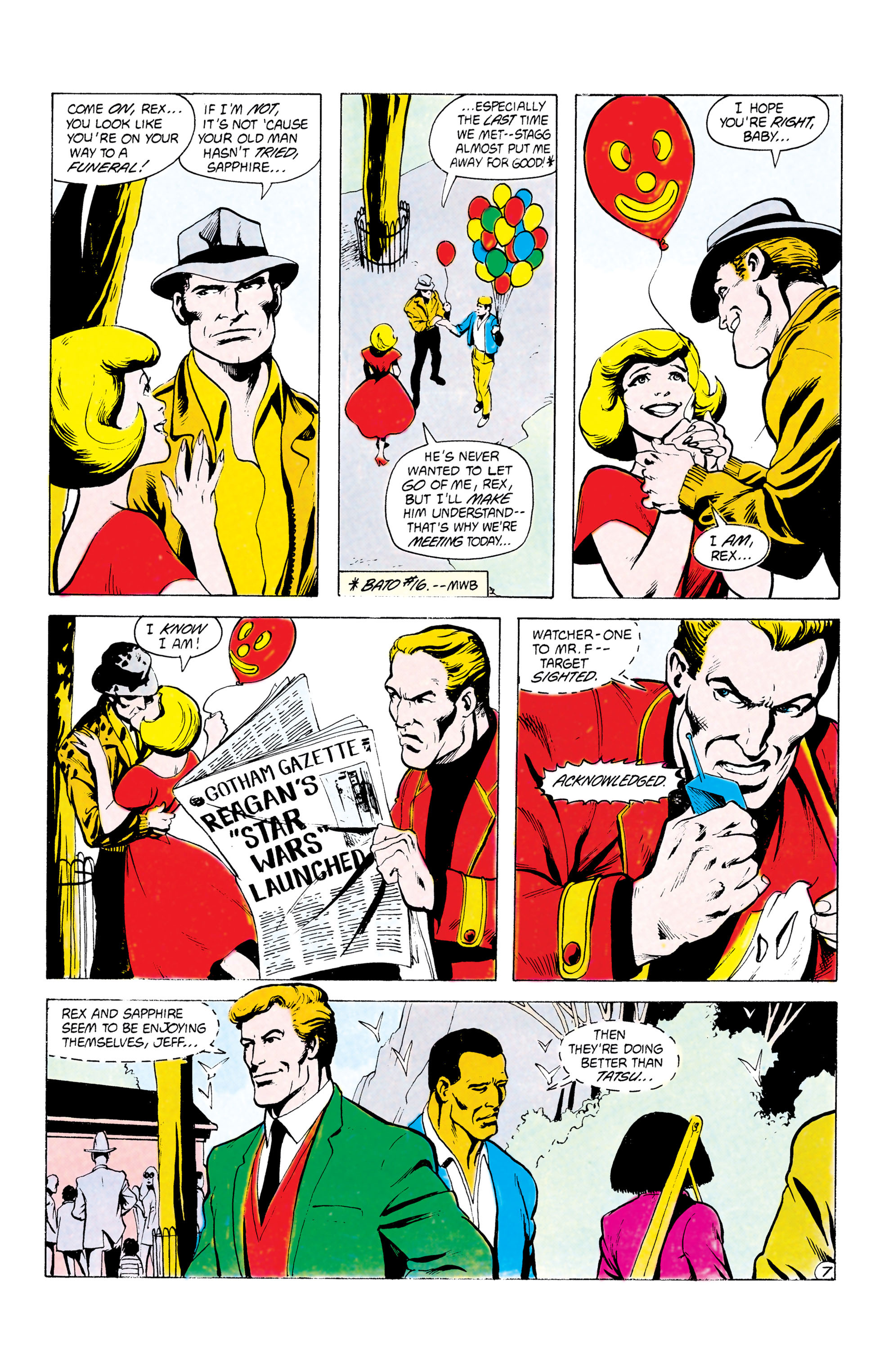 Batman and the Outsiders (1983) 24 Page 7