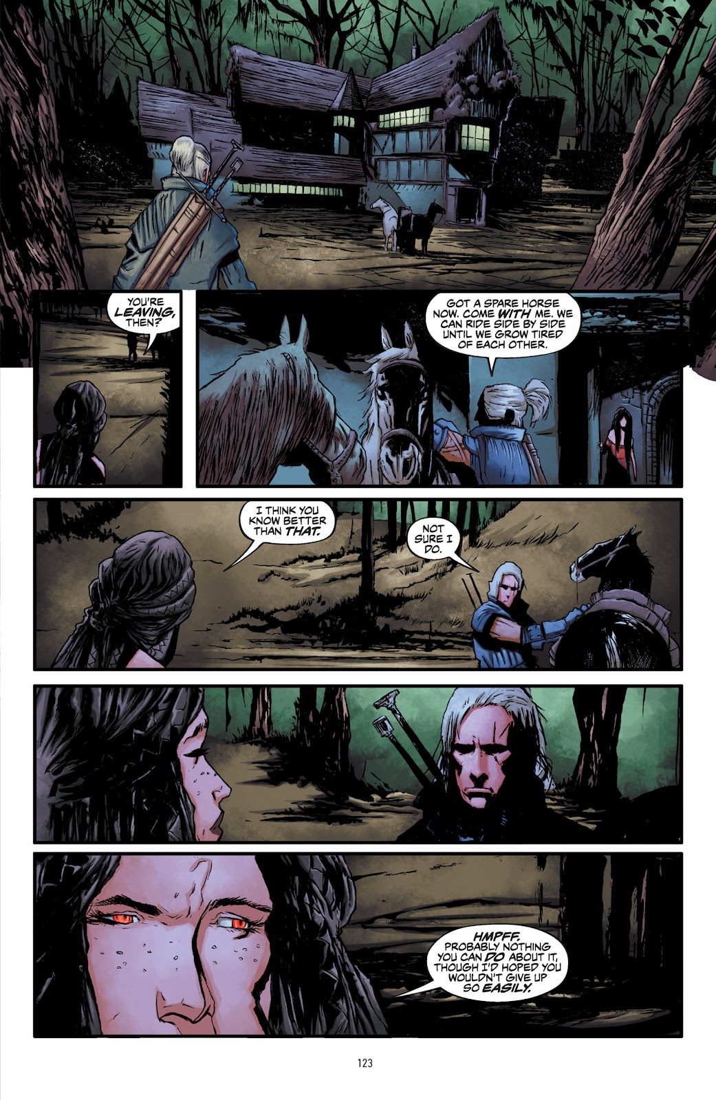 Read online The Witcher Omnibus comic -  Issue # TPB (Part 2) - 26
