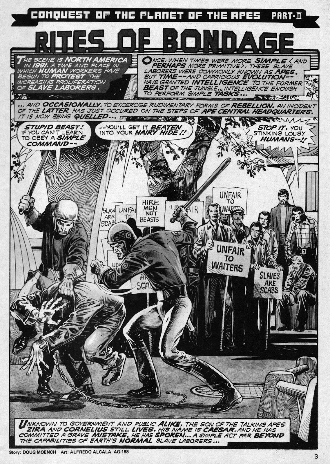 Planet of the Apes (1974) 18 Page 3