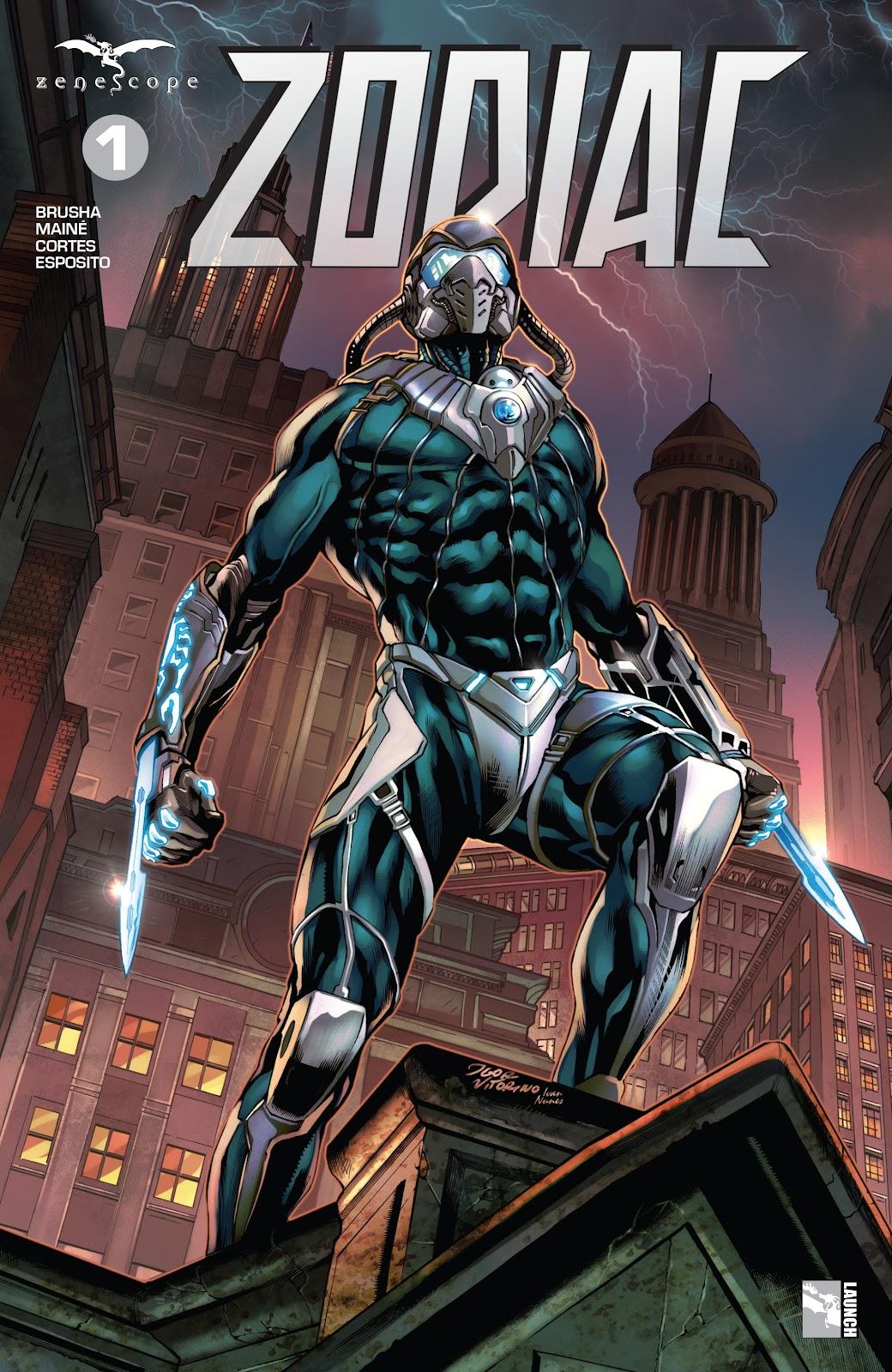Read online Zodiac comic -  Issue #1 - 1