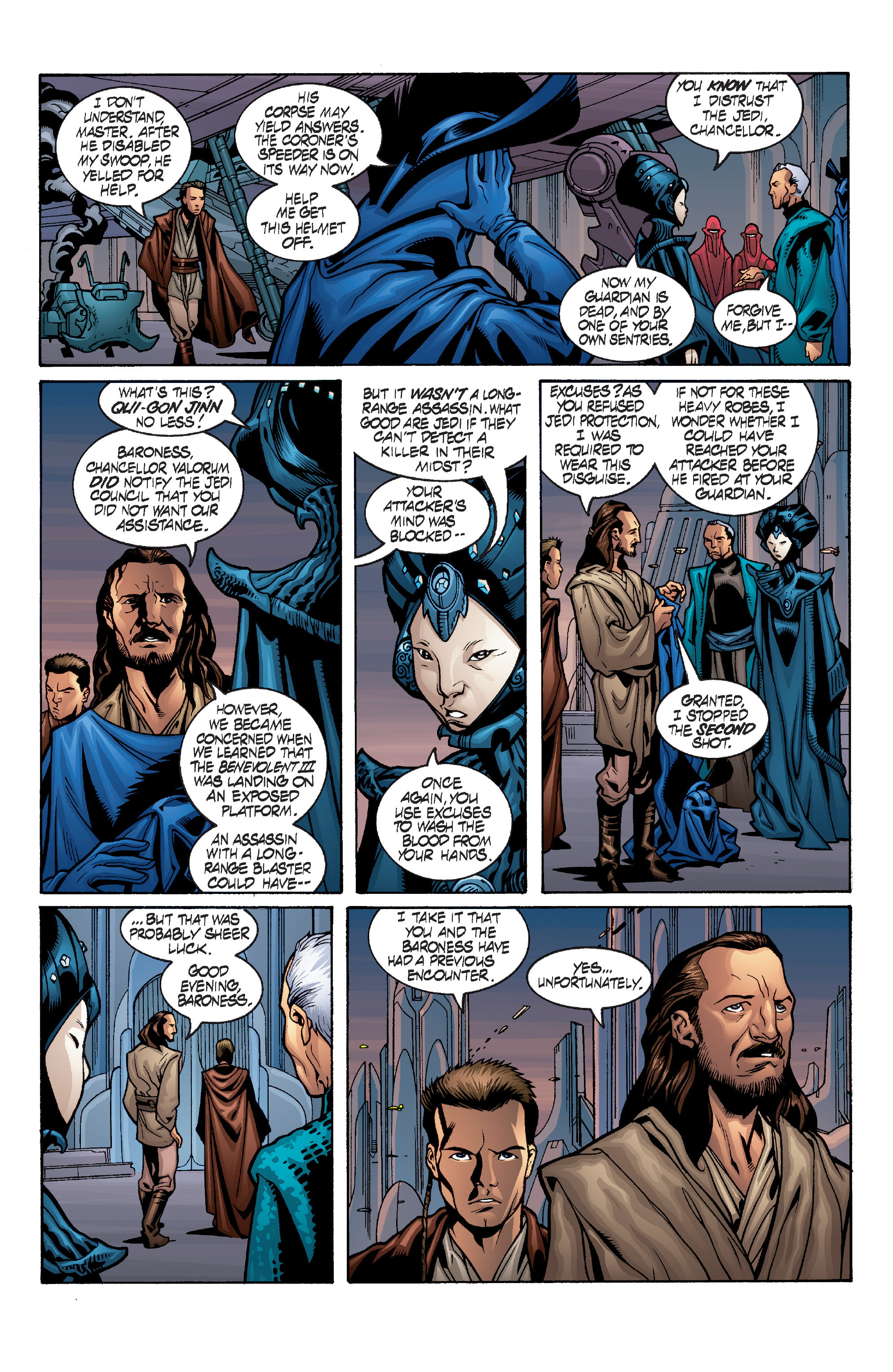 Read online Star Wars: Qui-Gon & Obi-Wan - Last Stand on Ord Mantell comic -  Issue #1 - 7