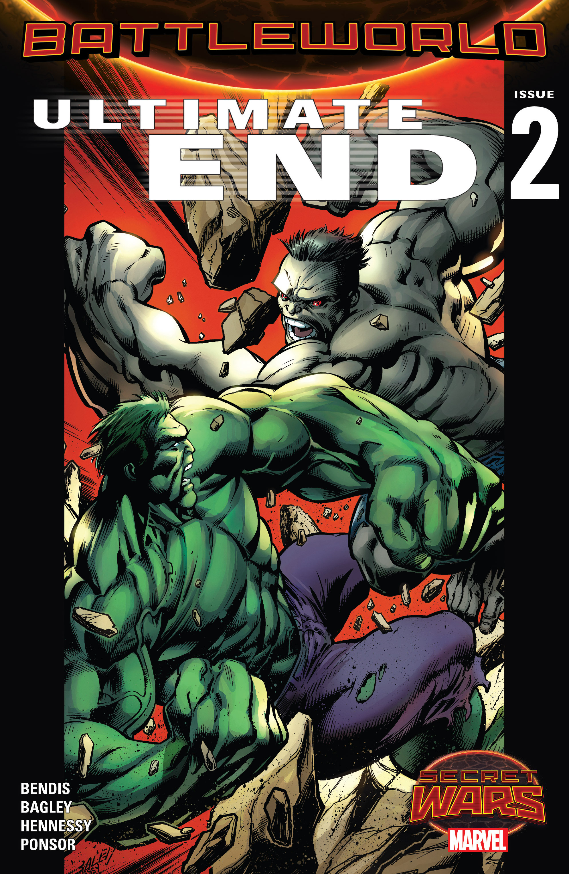 Read online Ultimate End comic -  Issue #2 - 1