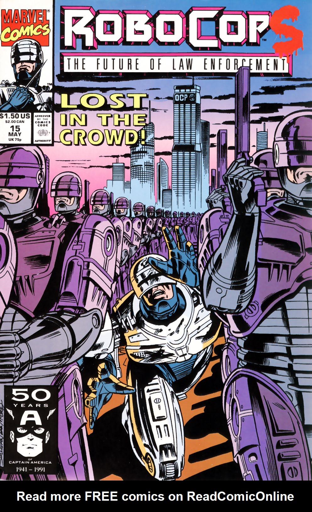 Read online Robocop (1990) comic -  Issue #15 - 1