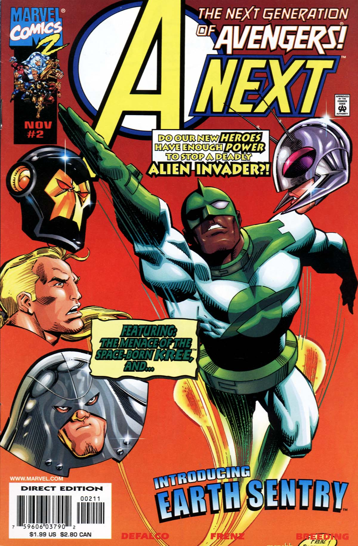 Read online A-Next comic -  Issue #2 - 2