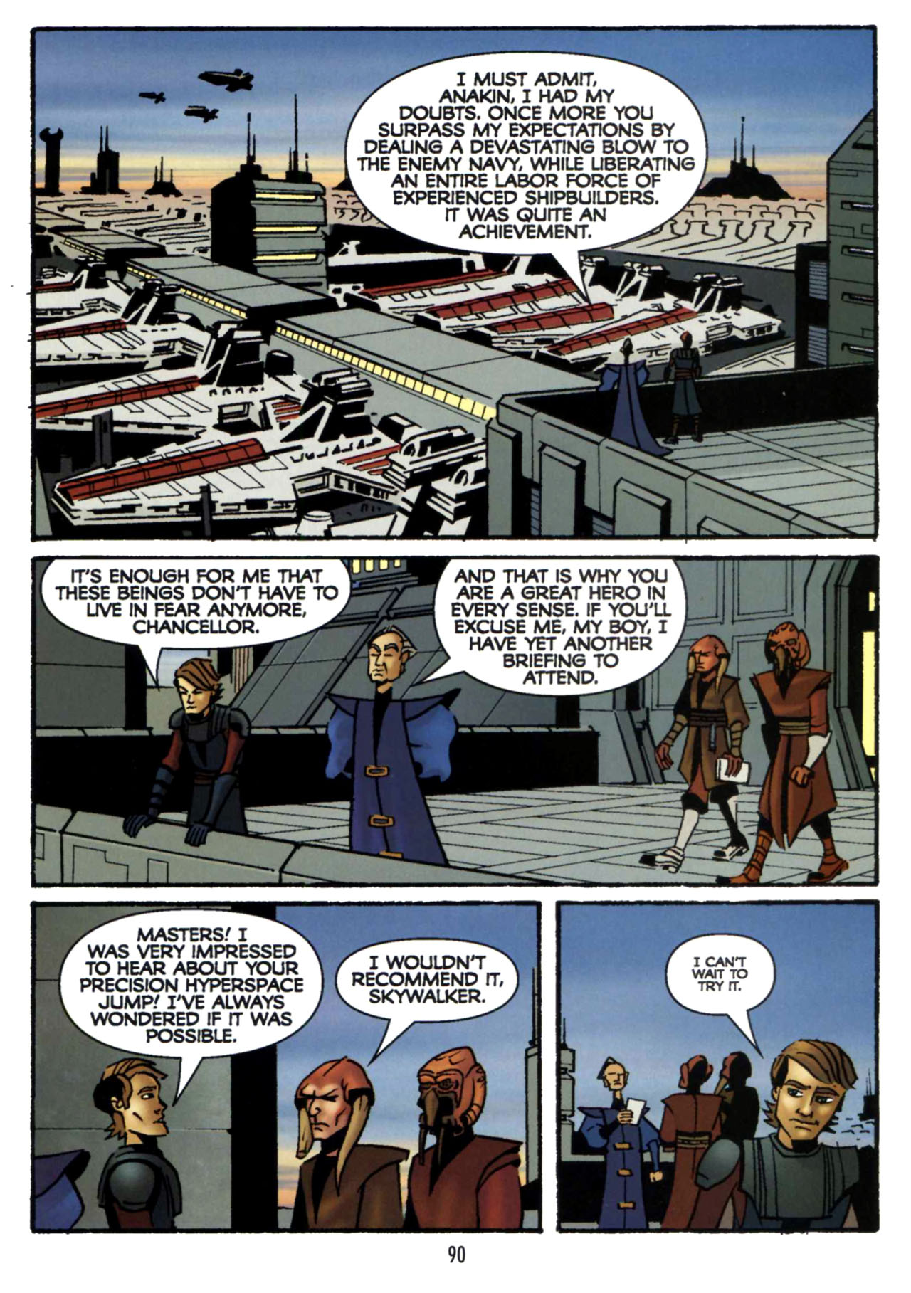 Read online Star Wars: The Clone Wars - Shipyards of Doom comic -  Issue # Full - 88
