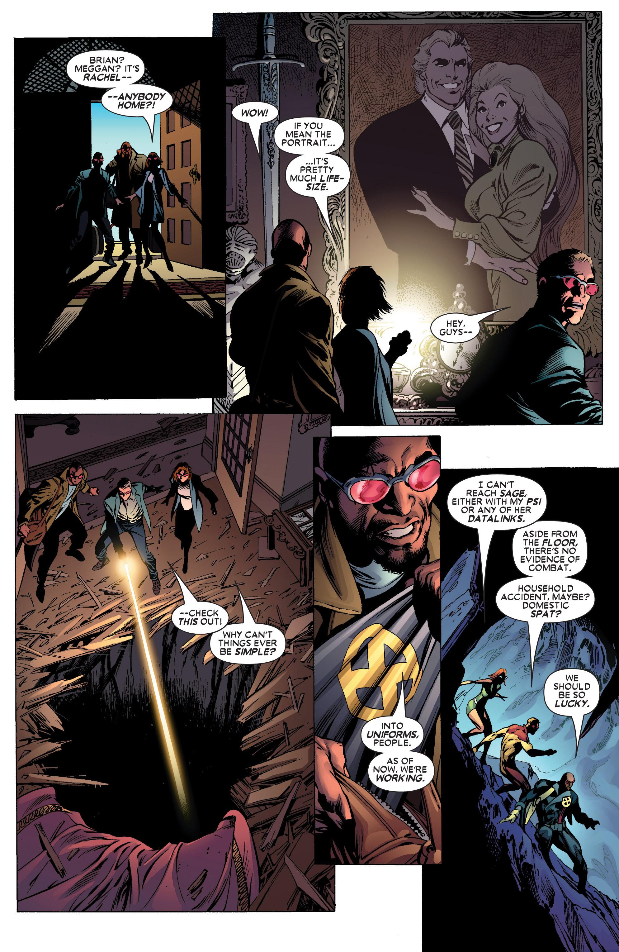 Read online Uncanny X-Men (1963) comic -  Issue #445 - 18