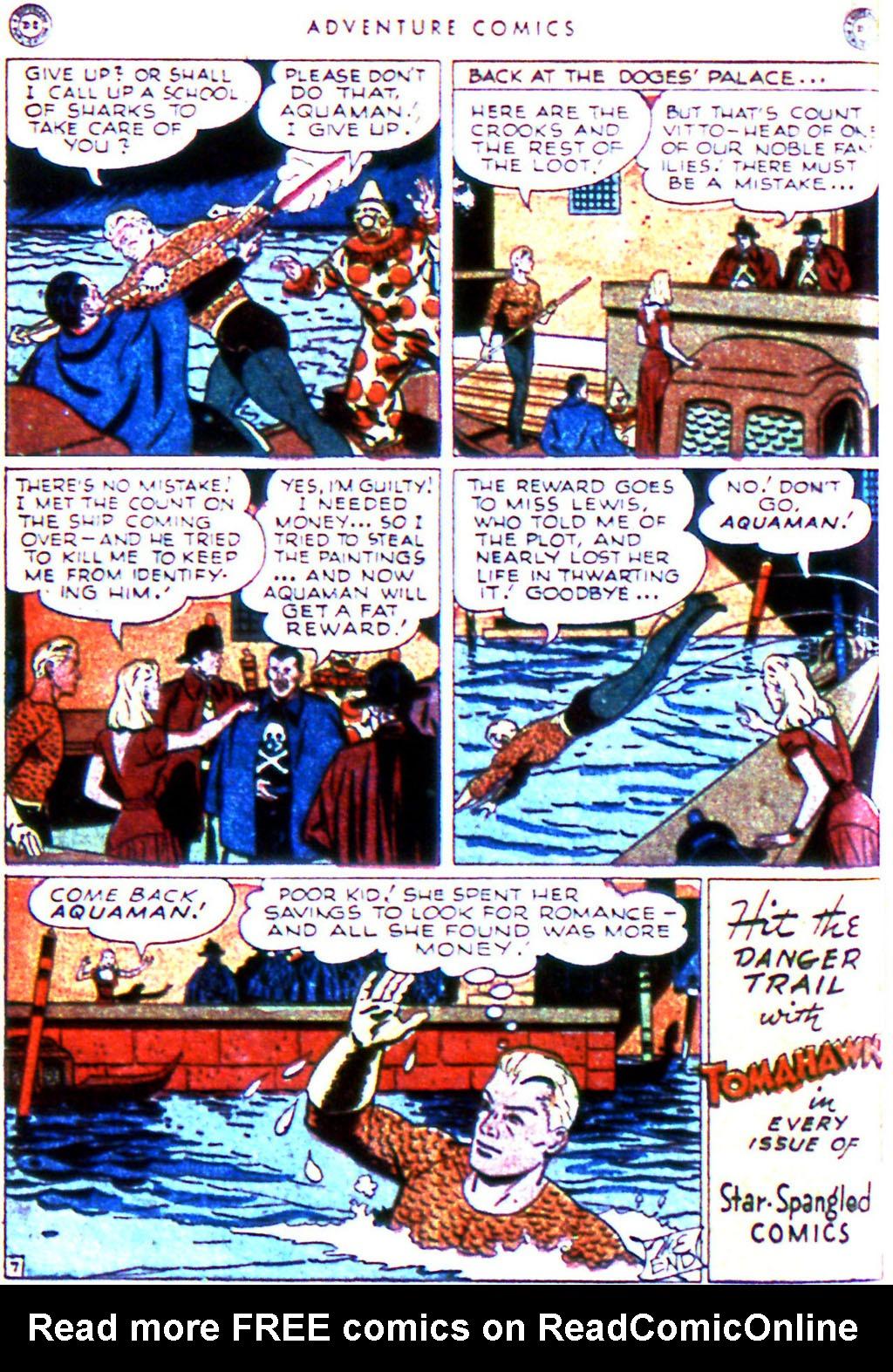 Read online Adventure Comics (1938) comic -  Issue #123 - 34
