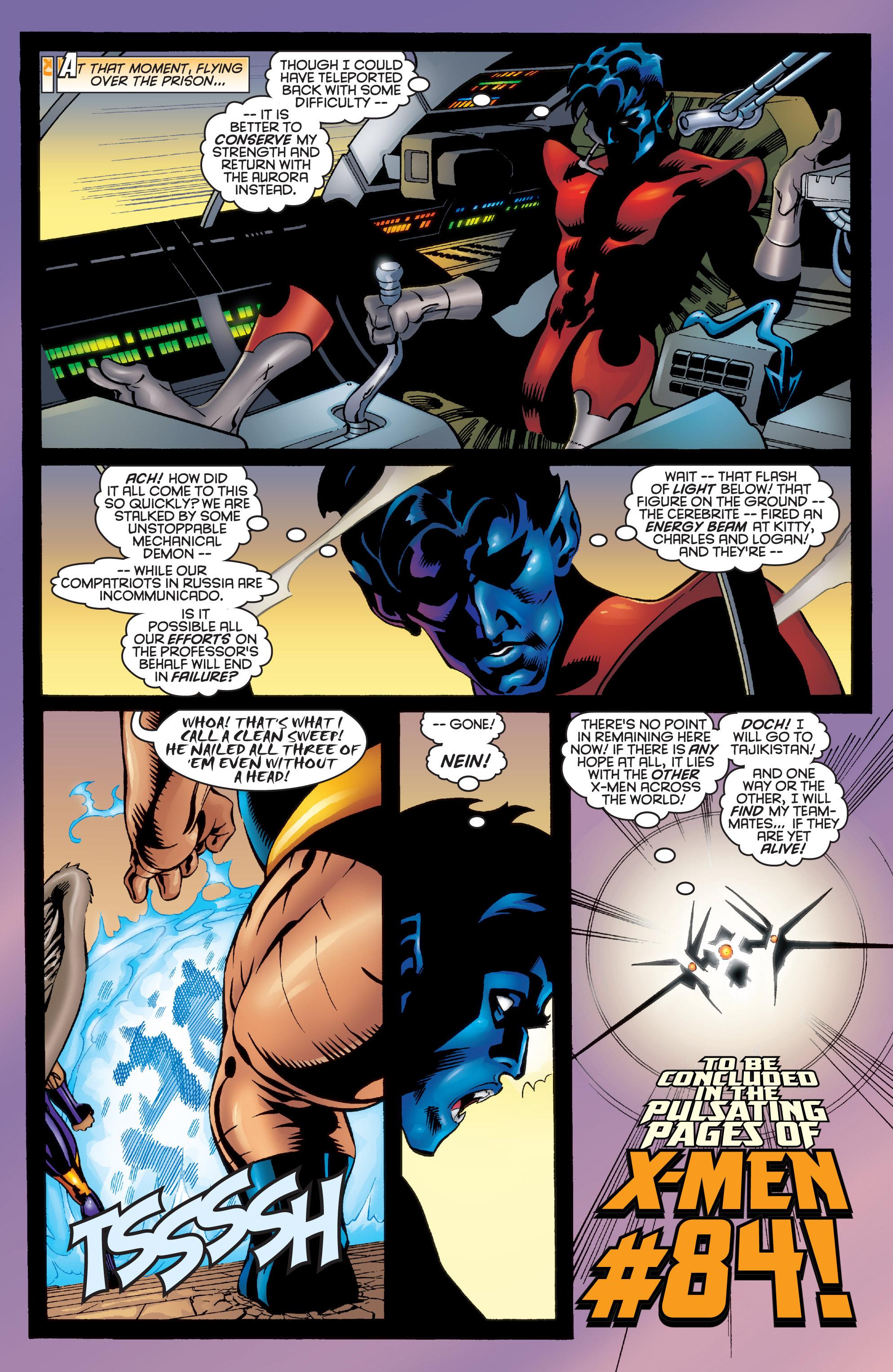 Read online Uncanny X-Men (1963) comic -  Issue #364 - 23