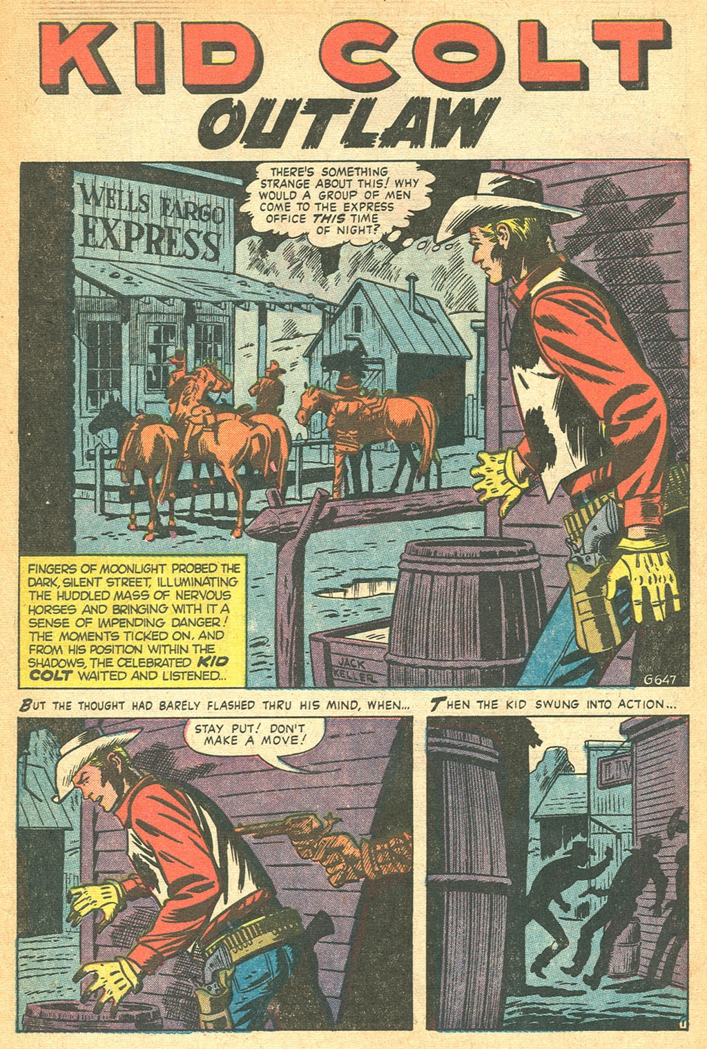 Kid Colt Outlaw issue 53 - Page 3