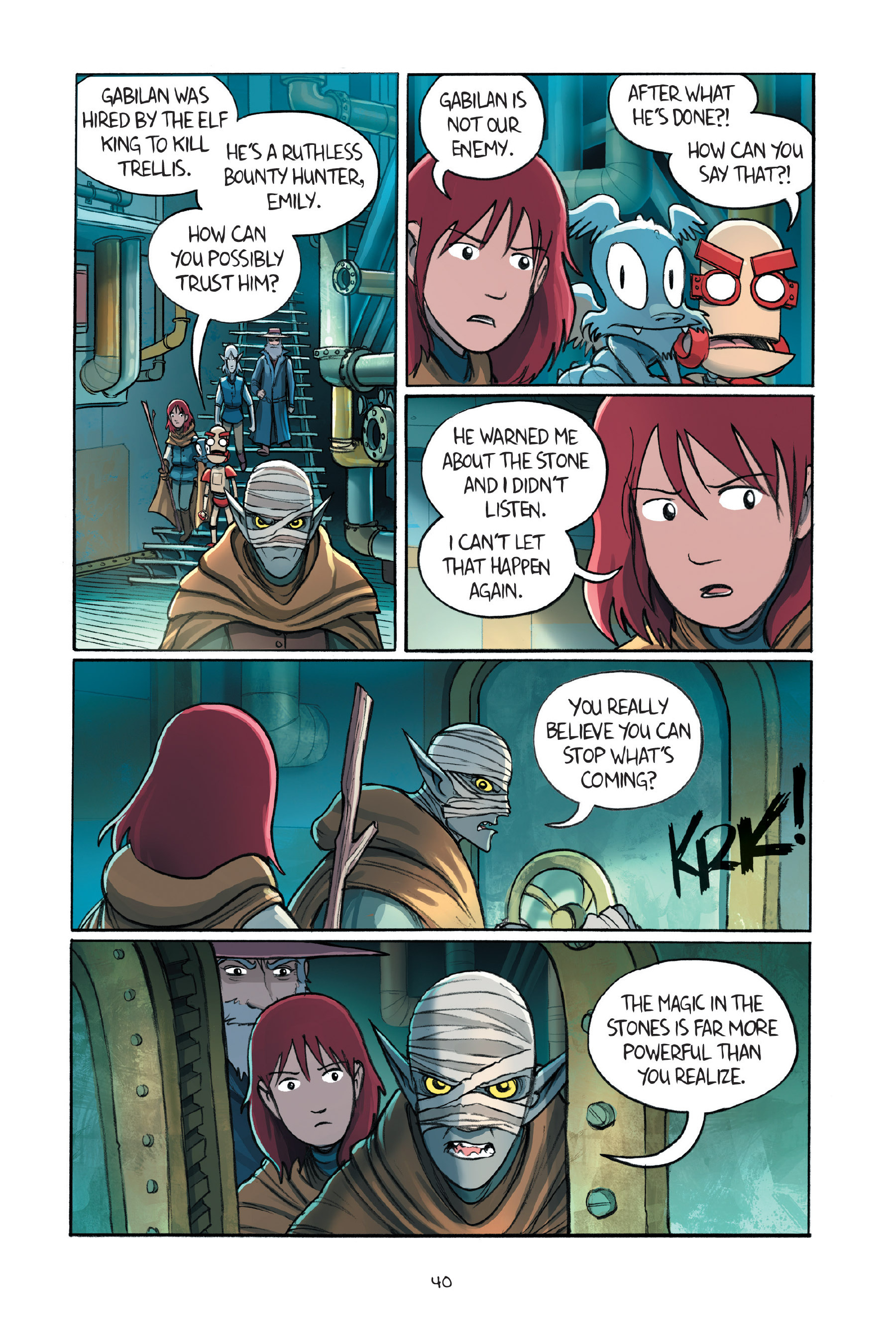 Read online Amulet comic -  Issue #7 - 43