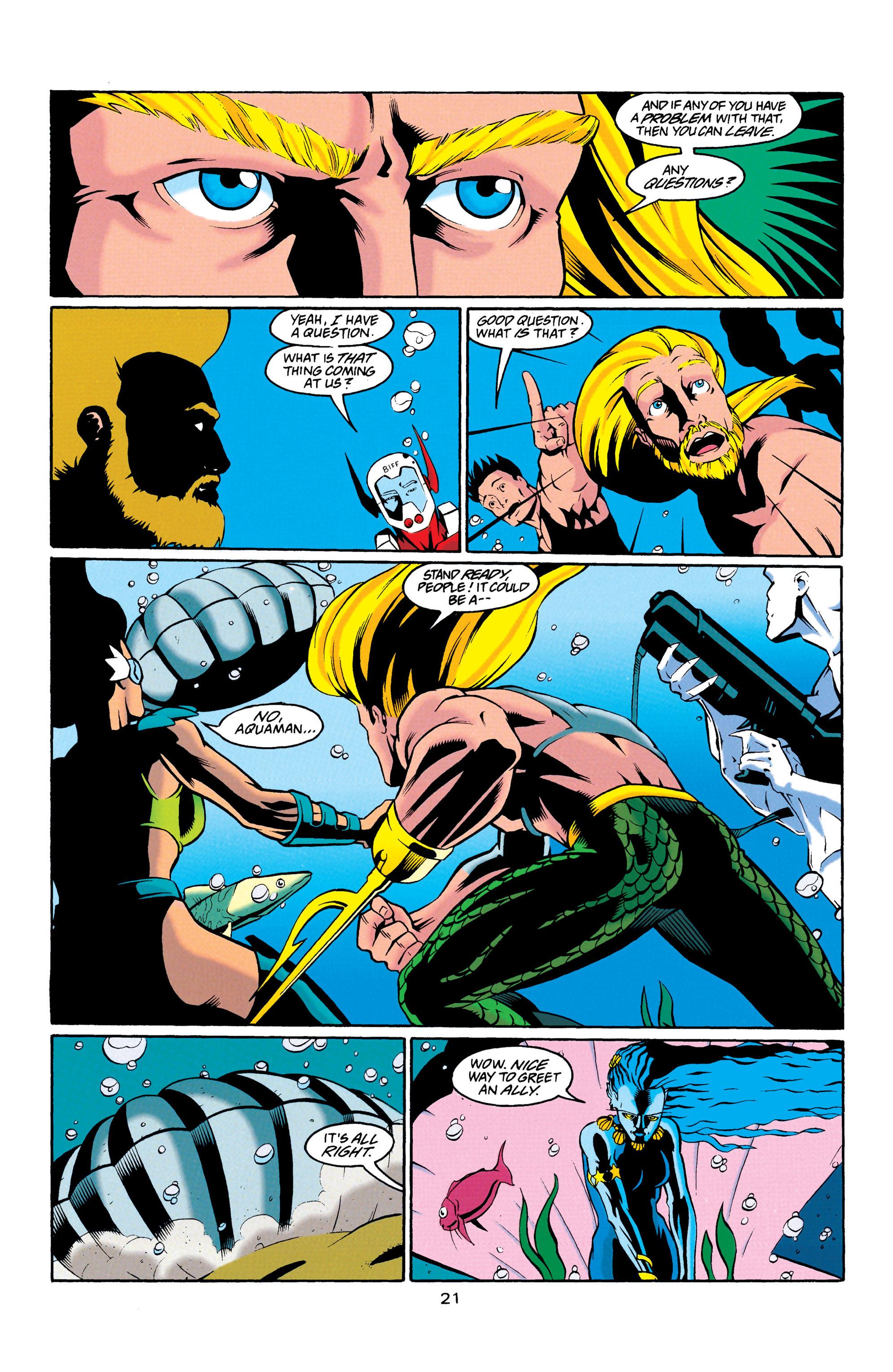 Read online Aquaman (1994) comic -  Issue #23 - 21