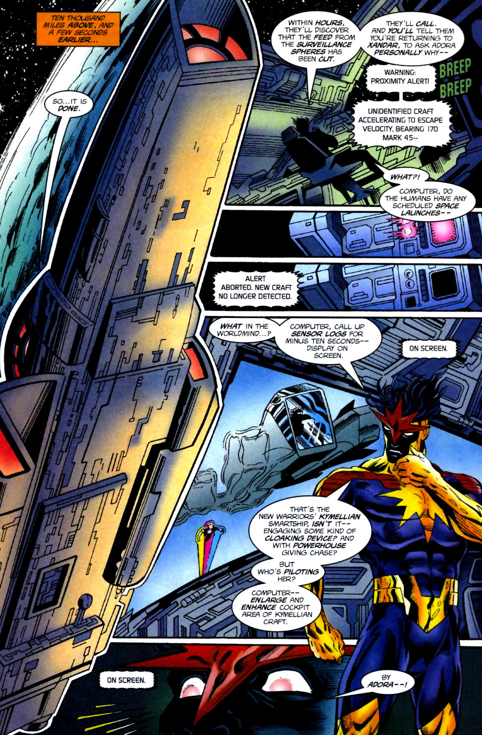 The New Warriors Issue #74 #78 - English 10