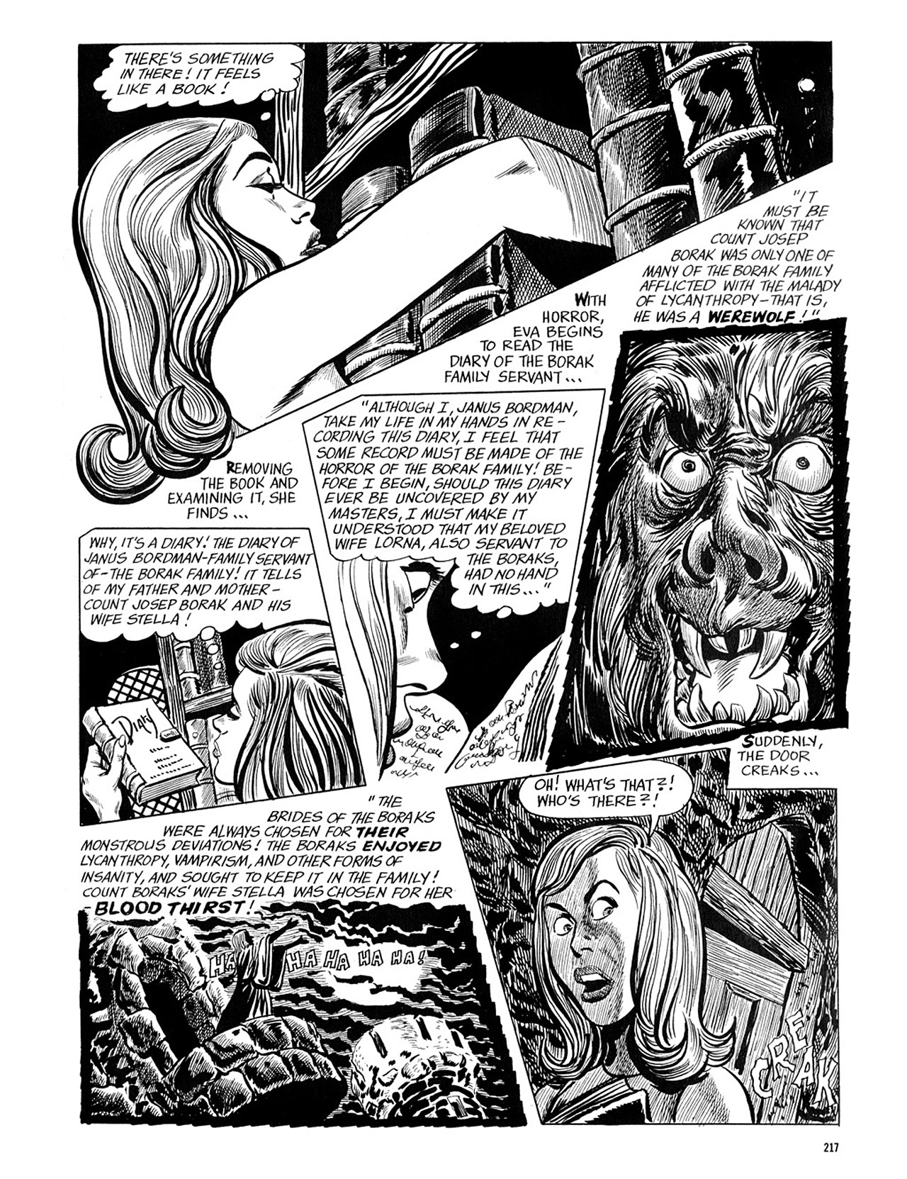 Read online Eerie Archives comic -  Issue # TPB 4 - 217