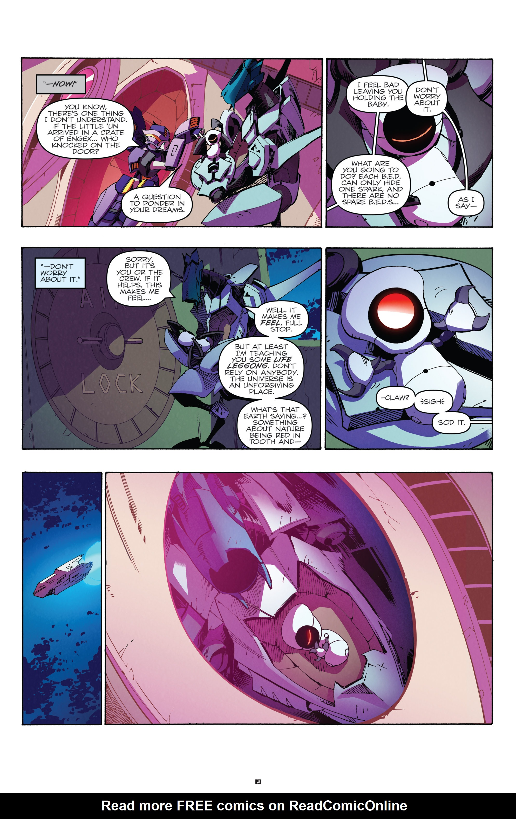 Read online Transformers: Holiday Special comic -  Issue # Full - 21