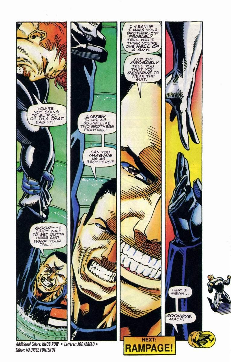 Read online Secret Weapons comic -  Issue #19 - 22