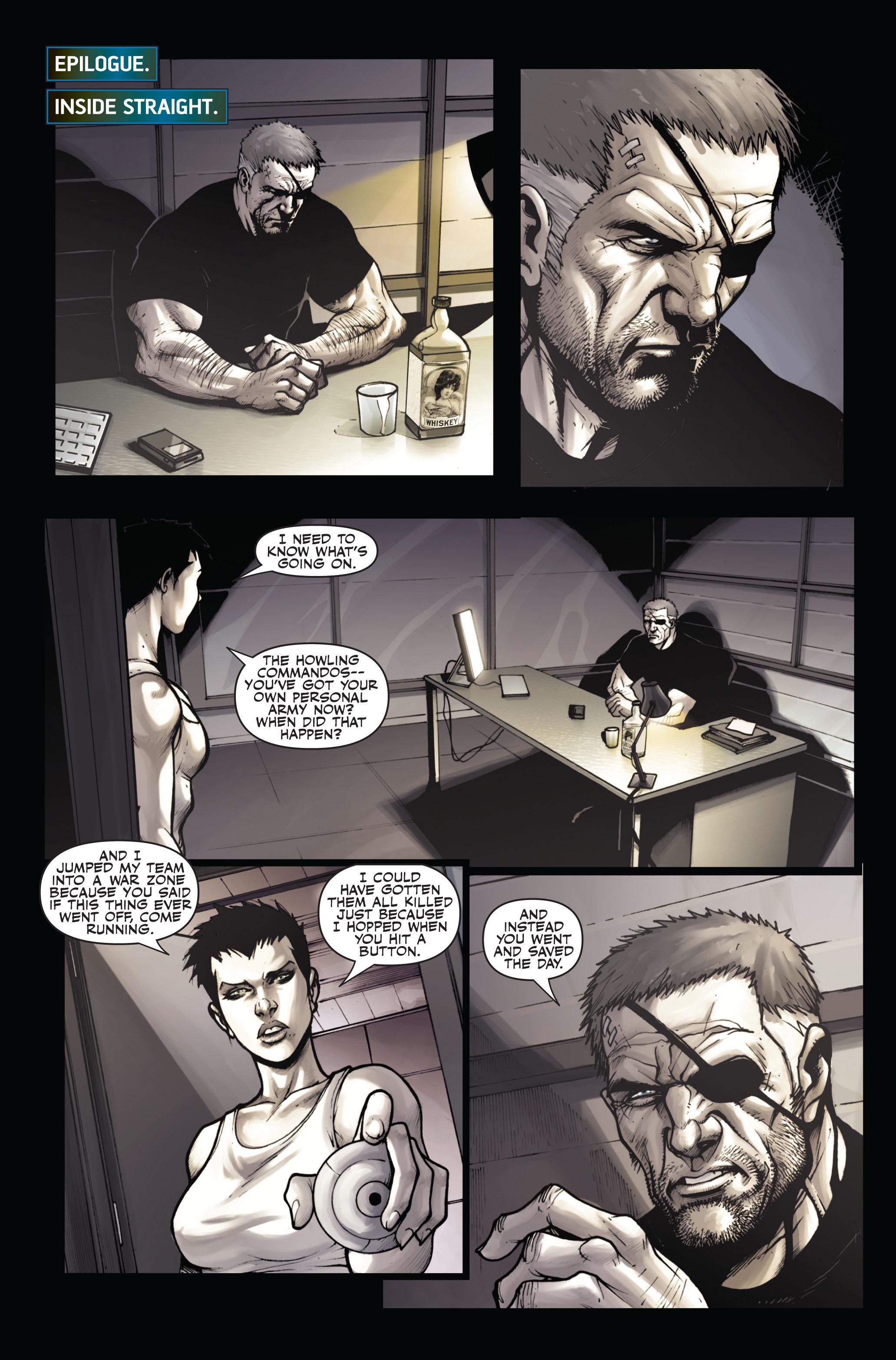 Read online Secret Warriors comic -  Issue #6 - 20