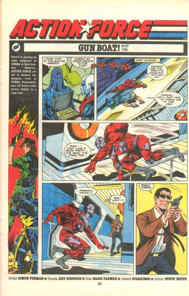G.I. Joe European Missions issue 8 - Page 17