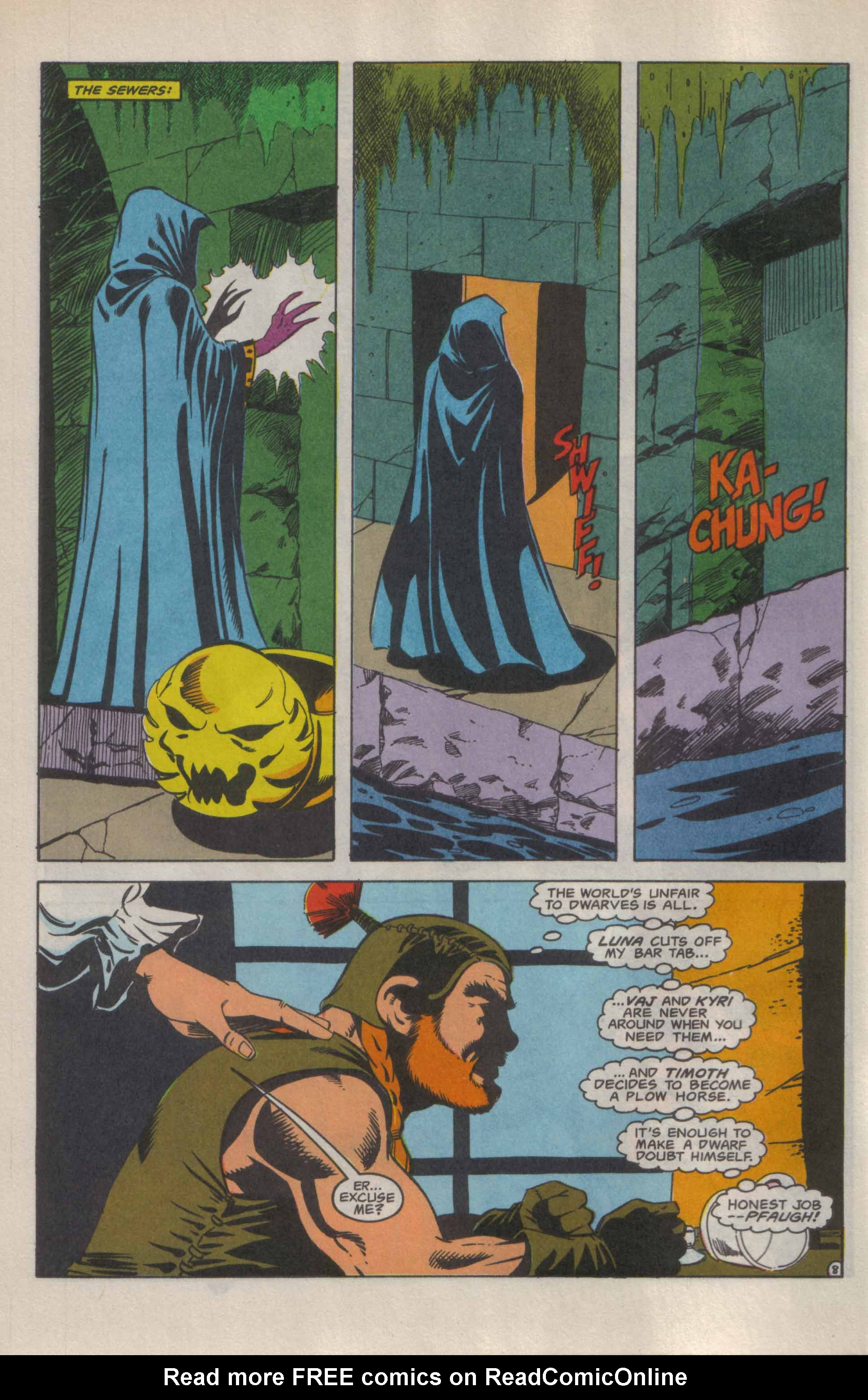 Read online Advanced Dungeons & Dragons comic -  Issue #9 - 9