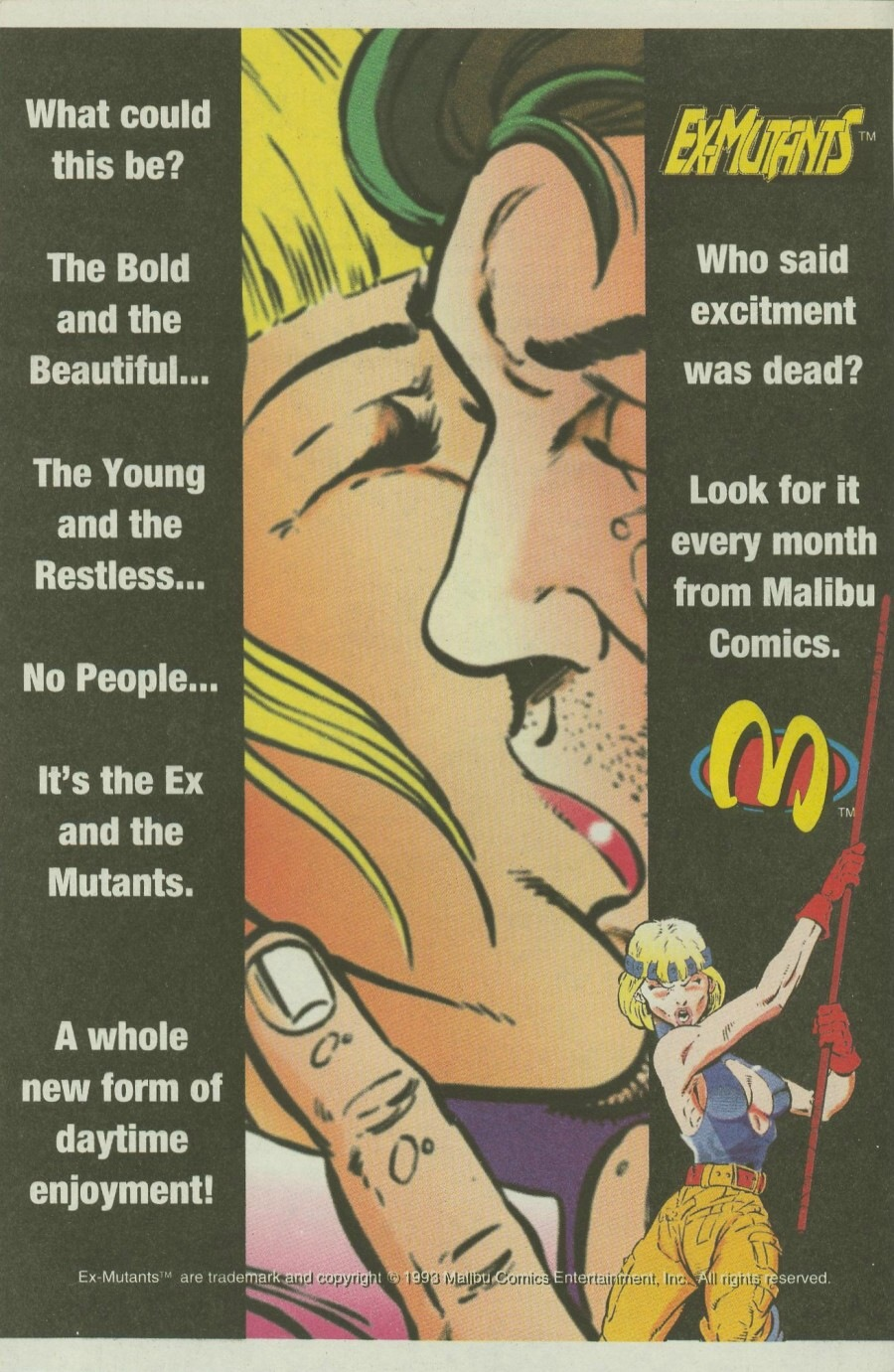 Read online Ex-Mutants comic -  Issue #7 - 33