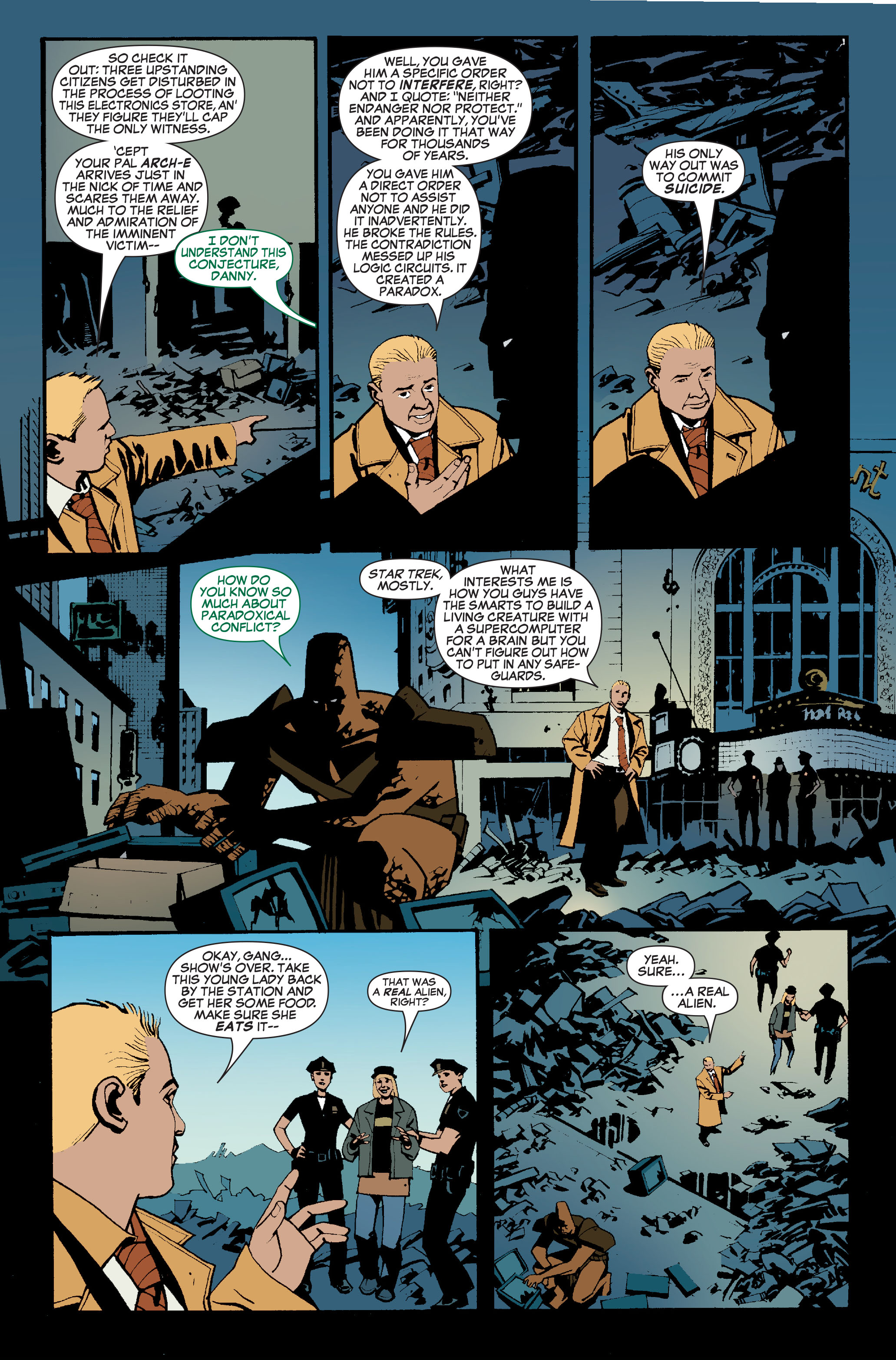 Read online World War Hulk: Front Line comic -  Issue #5 - 19