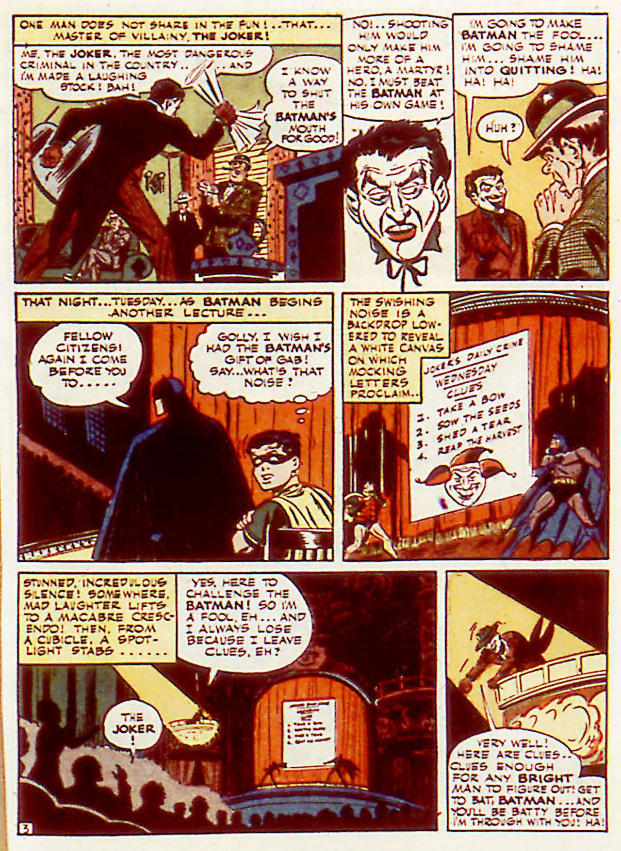 Read online Detective Comics (1937) comic -  Issue #71 - 5