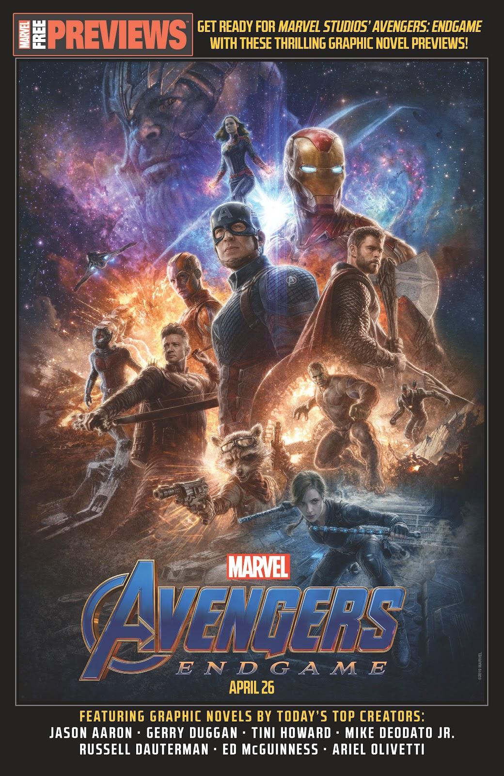 Read online Avengers Start Here Sampler 2019 comic -  Issue # Full - 1