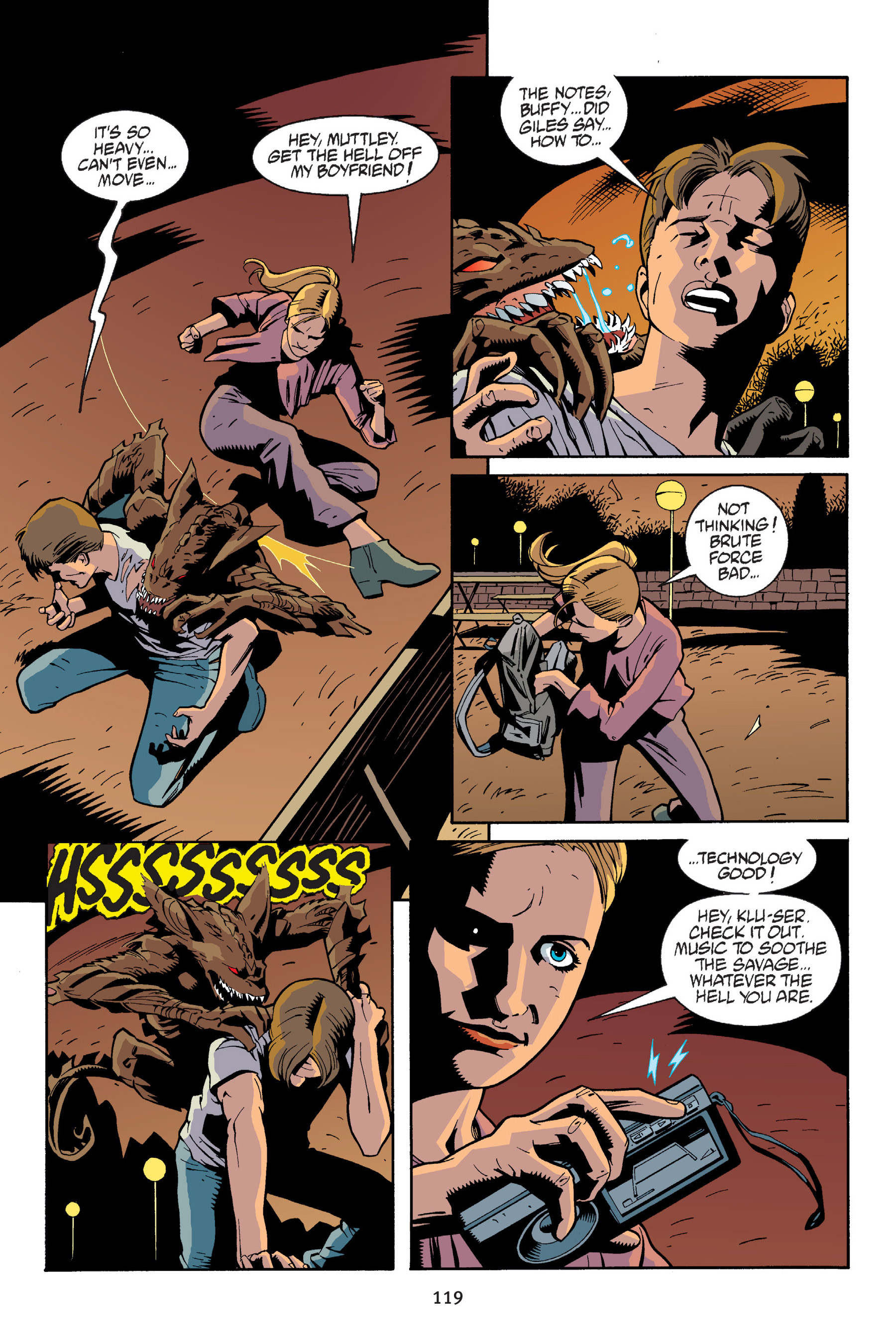 Read online Buffy the Vampire Slayer: Omnibus comic -  Issue # TPB 6 - 119