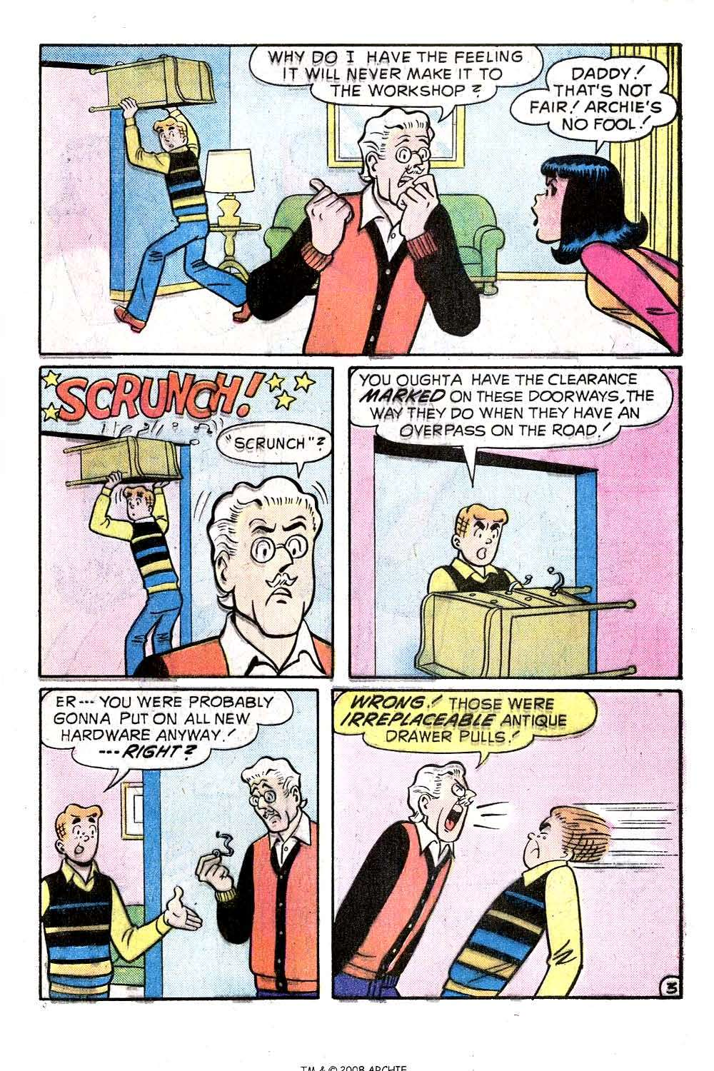 Read online Archie (1960) comic -  Issue #244 - 5