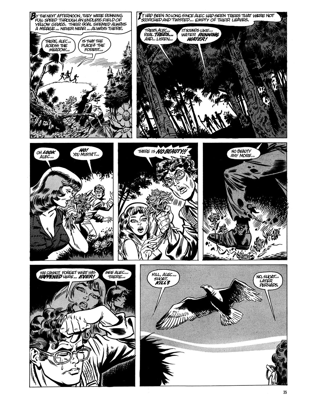 Read online Eerie Archives comic -  Issue # TPB 5 - 36