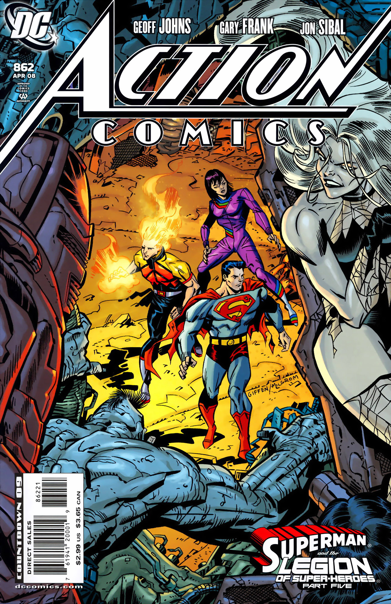 Read online Action Comics (1938) comic -  Issue #862 - 1