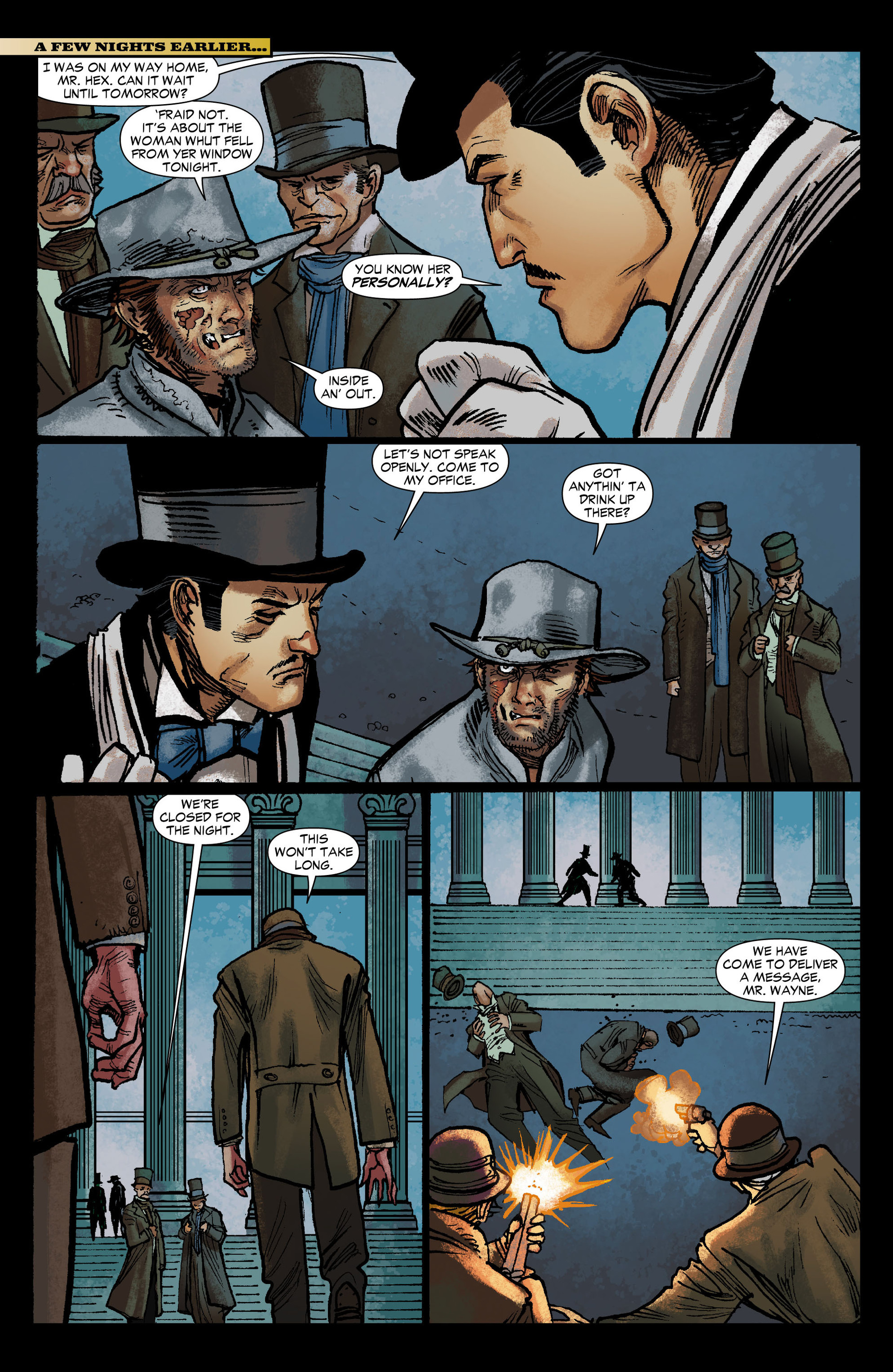 Read online All-Star Western (2011) comic -  Issue #12 - 9