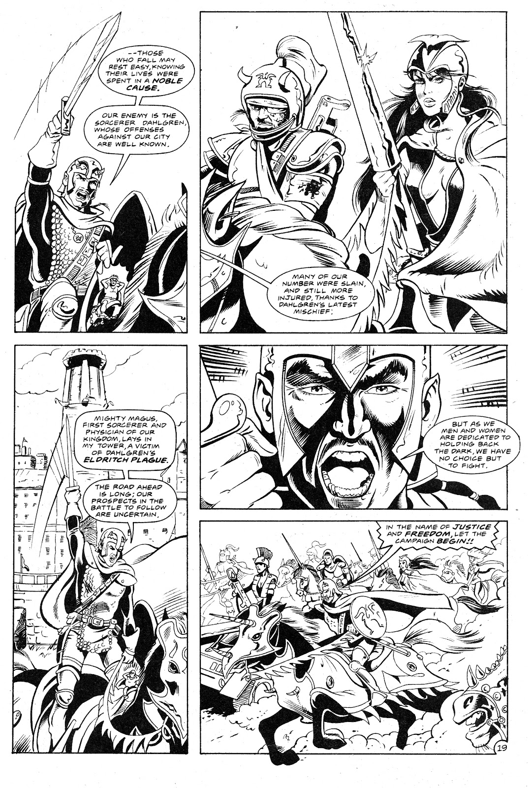 Ex-Mutants: The Shattered Earth Chronicles issue 9 - Page 21