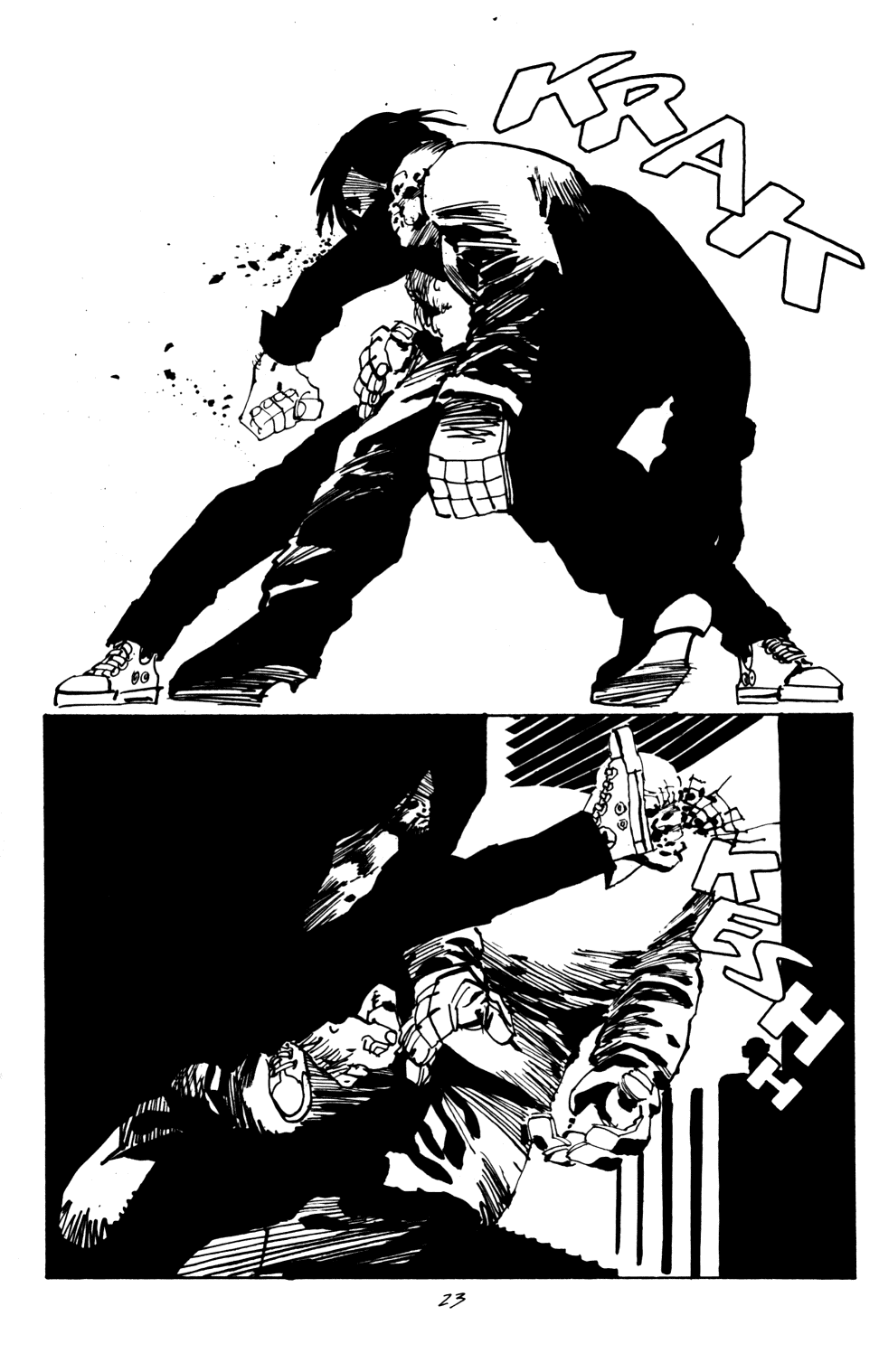 Read online Sin City: Hell and Back comic -  Issue #4 - 24