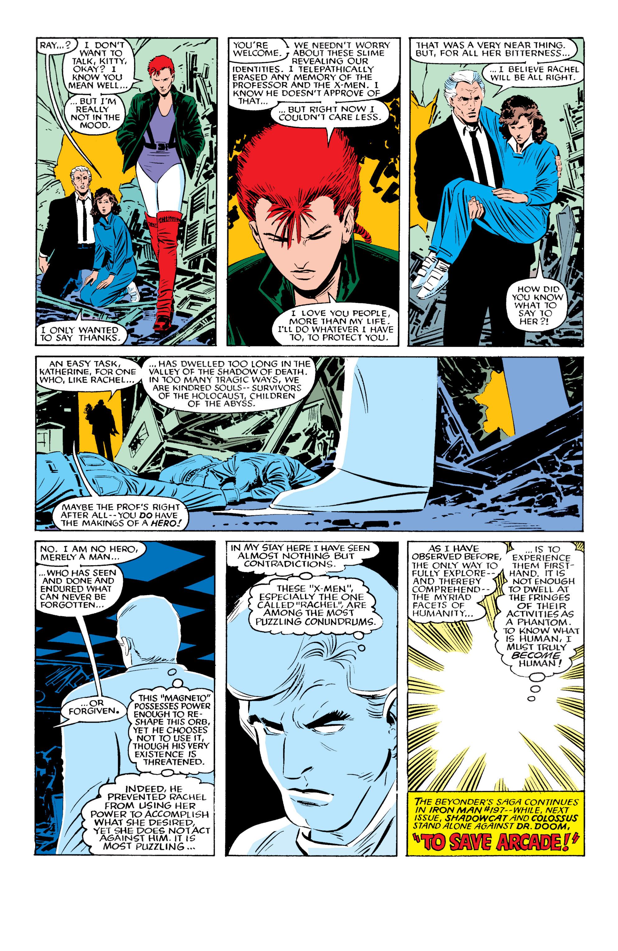 Read online Uncanny X-Men (1963) comic -  Issue #196 - 23