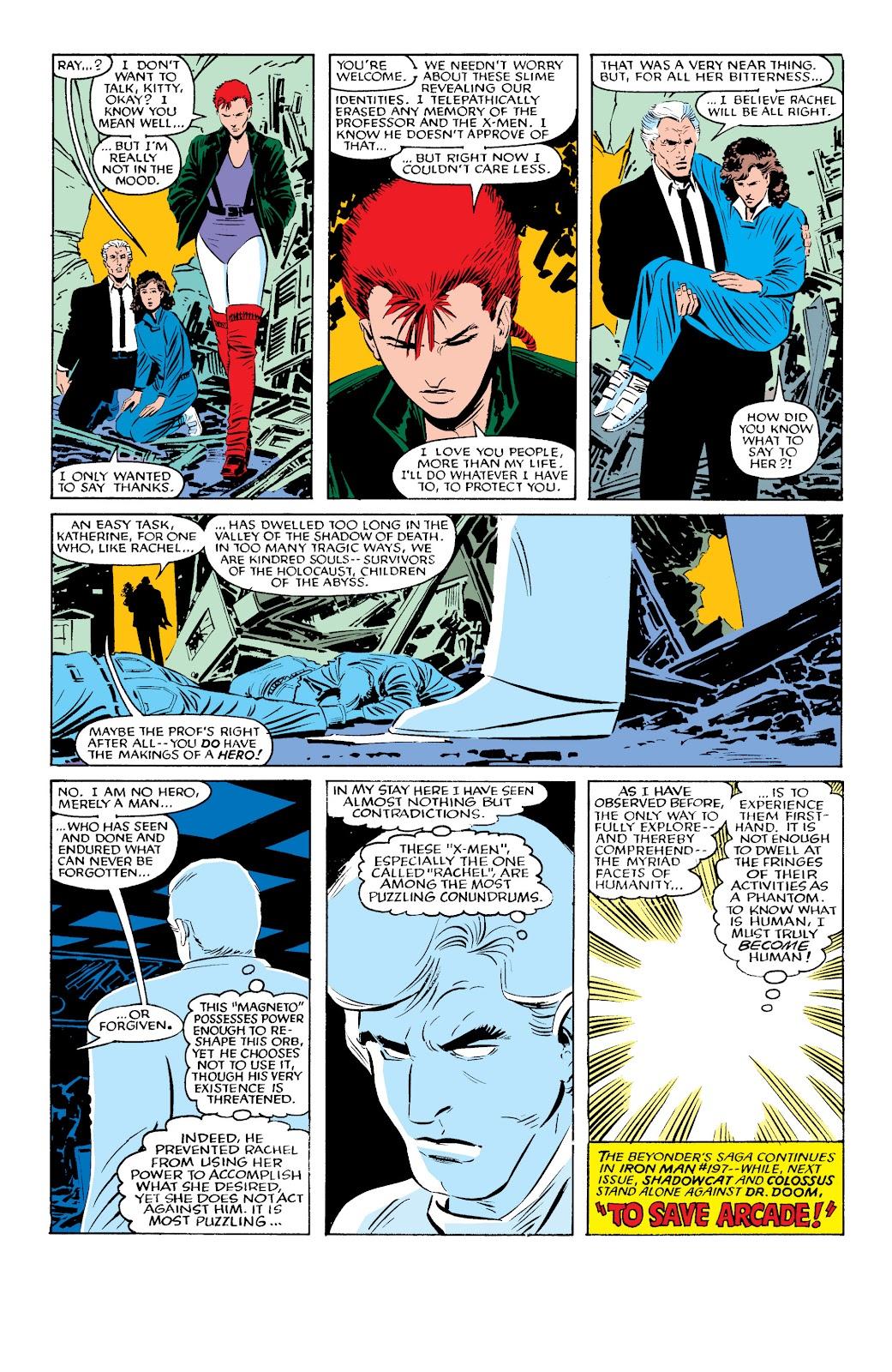 Uncanny X-Men (1963) issue 196 - Page 23