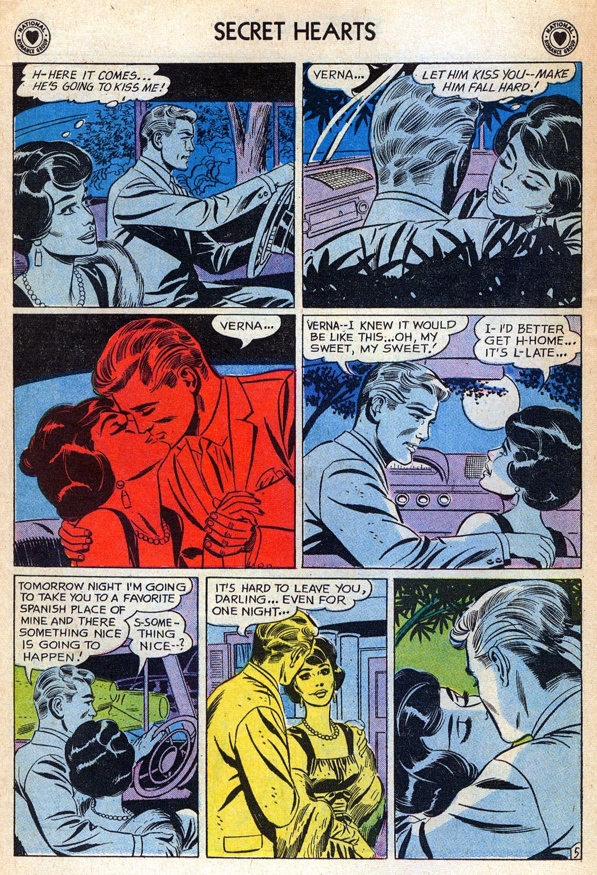 Read online Secret Hearts comic -  Issue #76 - 22