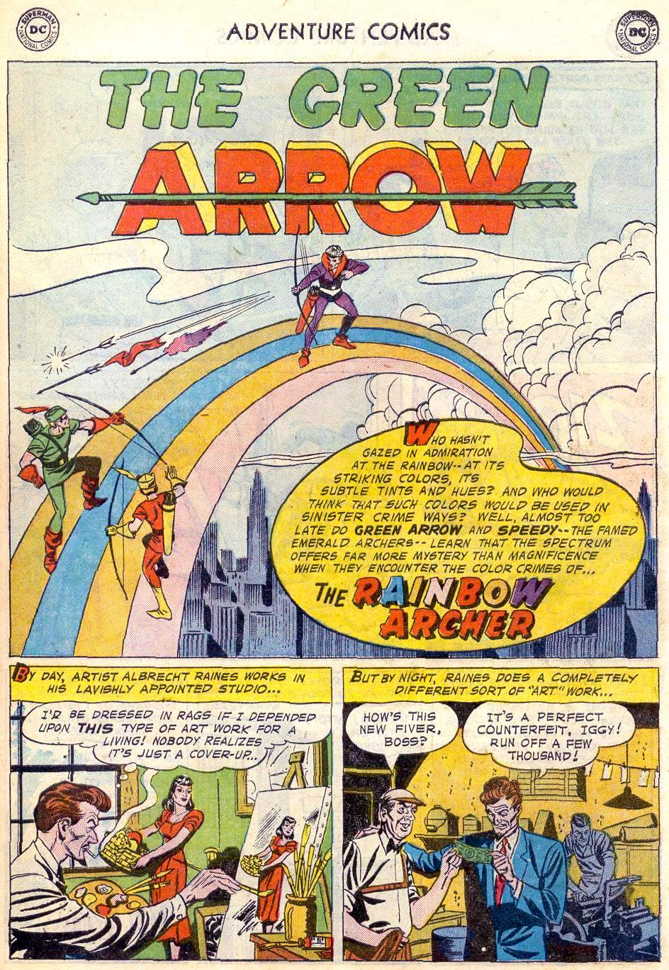 Read online Adventure Comics (1938) comic -  Issue #246 - 27