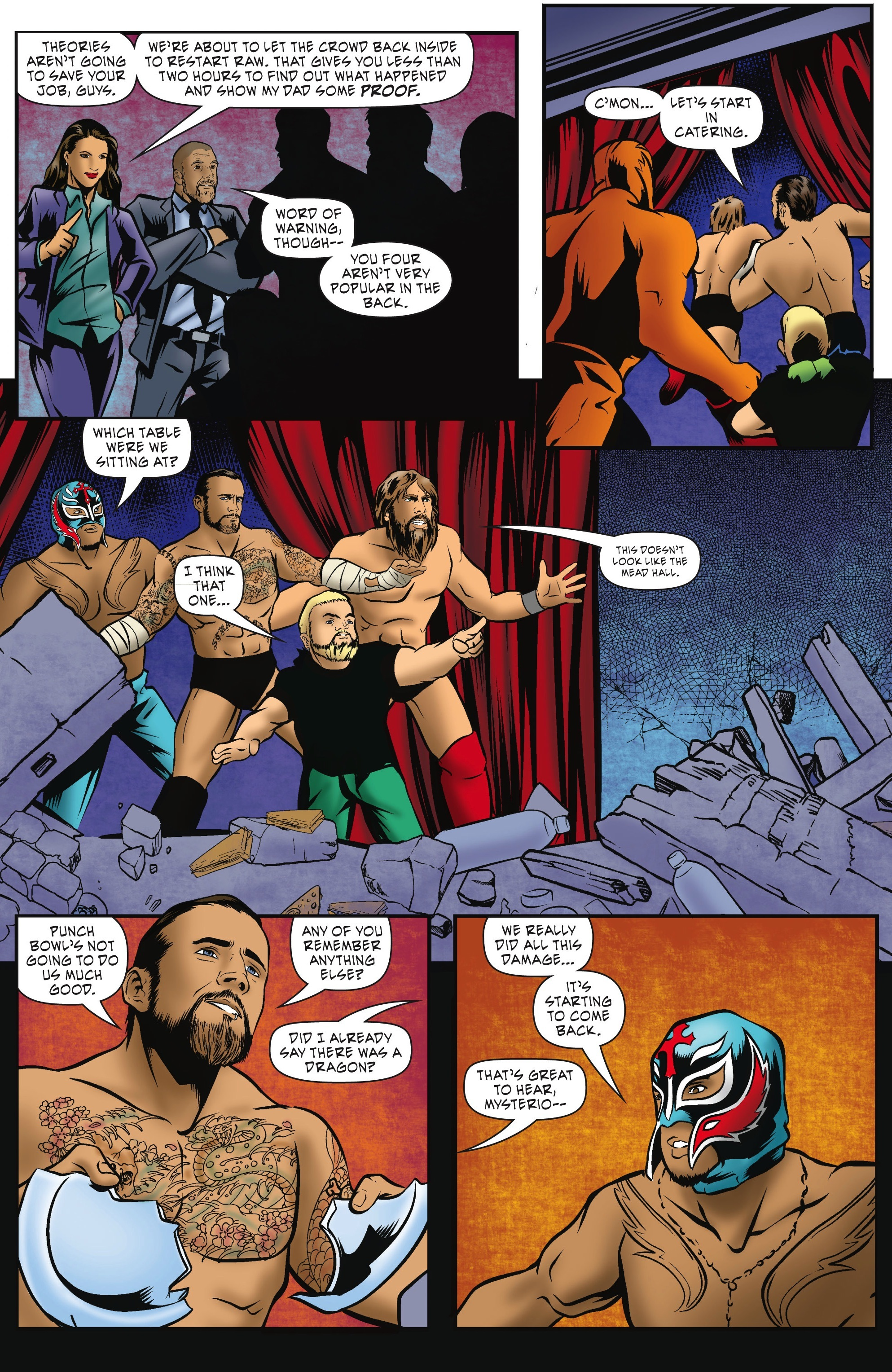 Read online WWE Superstars comic -  Issue #5 - 20