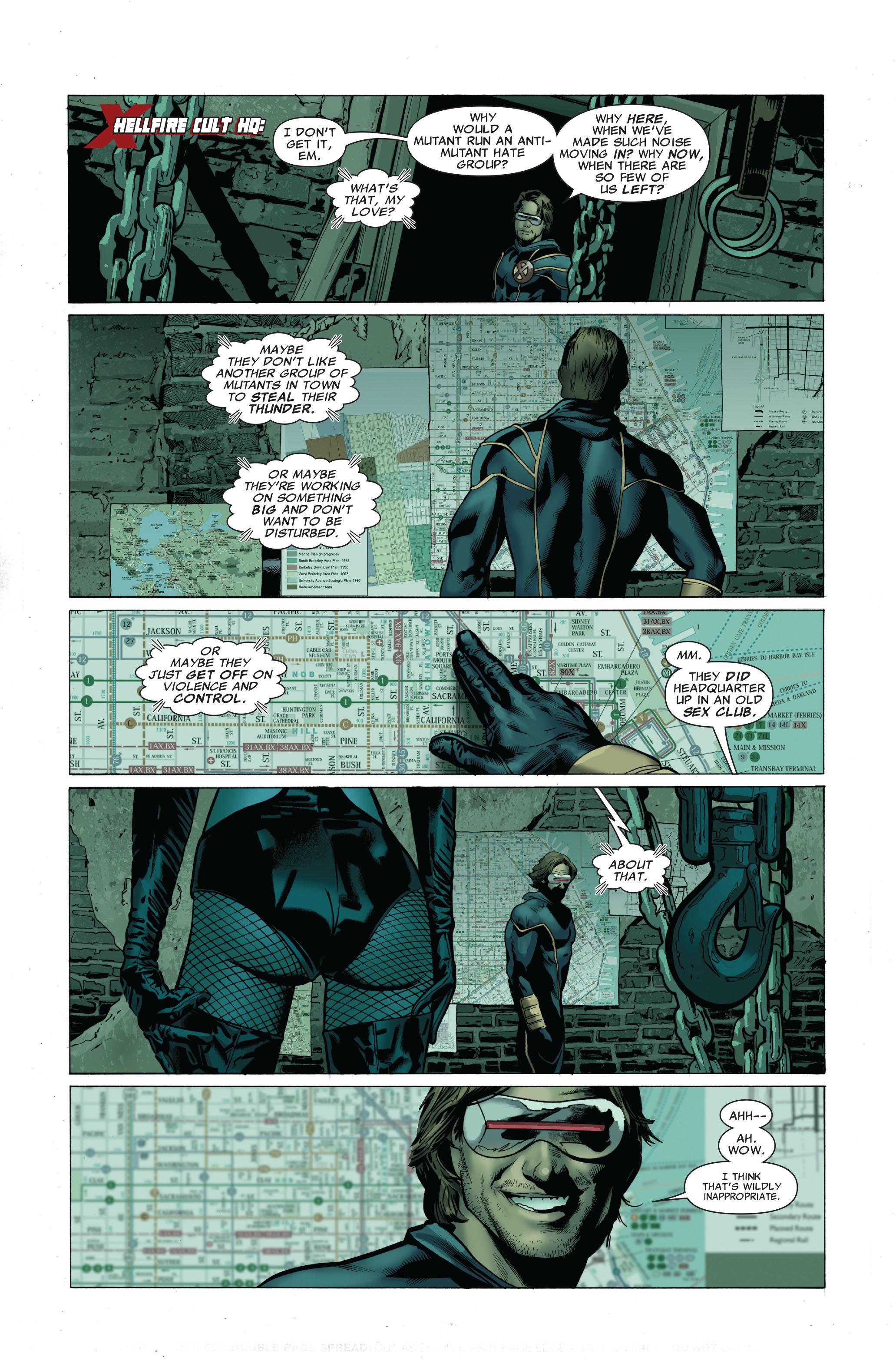 Read online Uncanny X-Men (1963) comic -  Issue #503 - 11