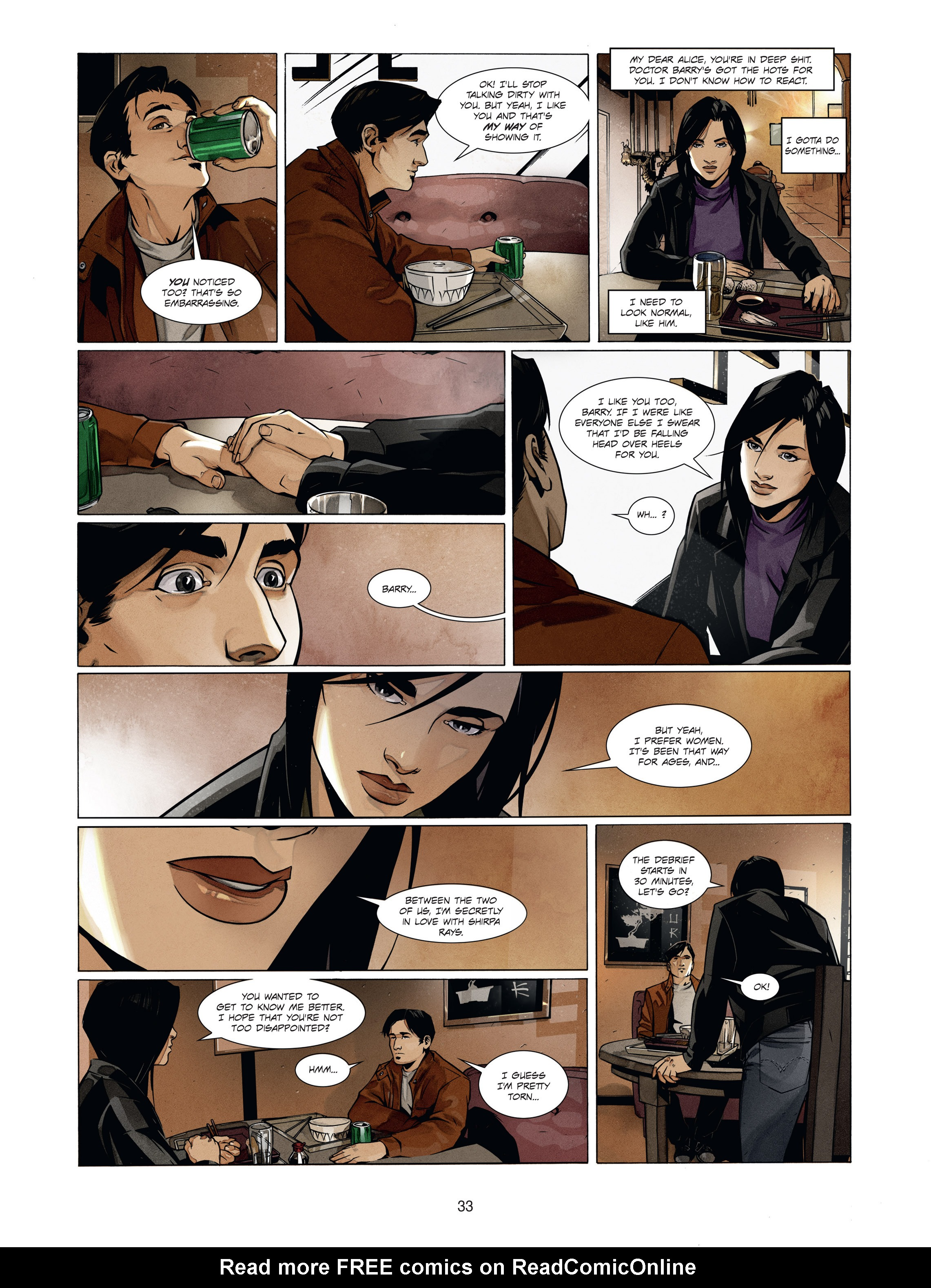 Read online Alice Matheson comic -  Issue #1 - 32