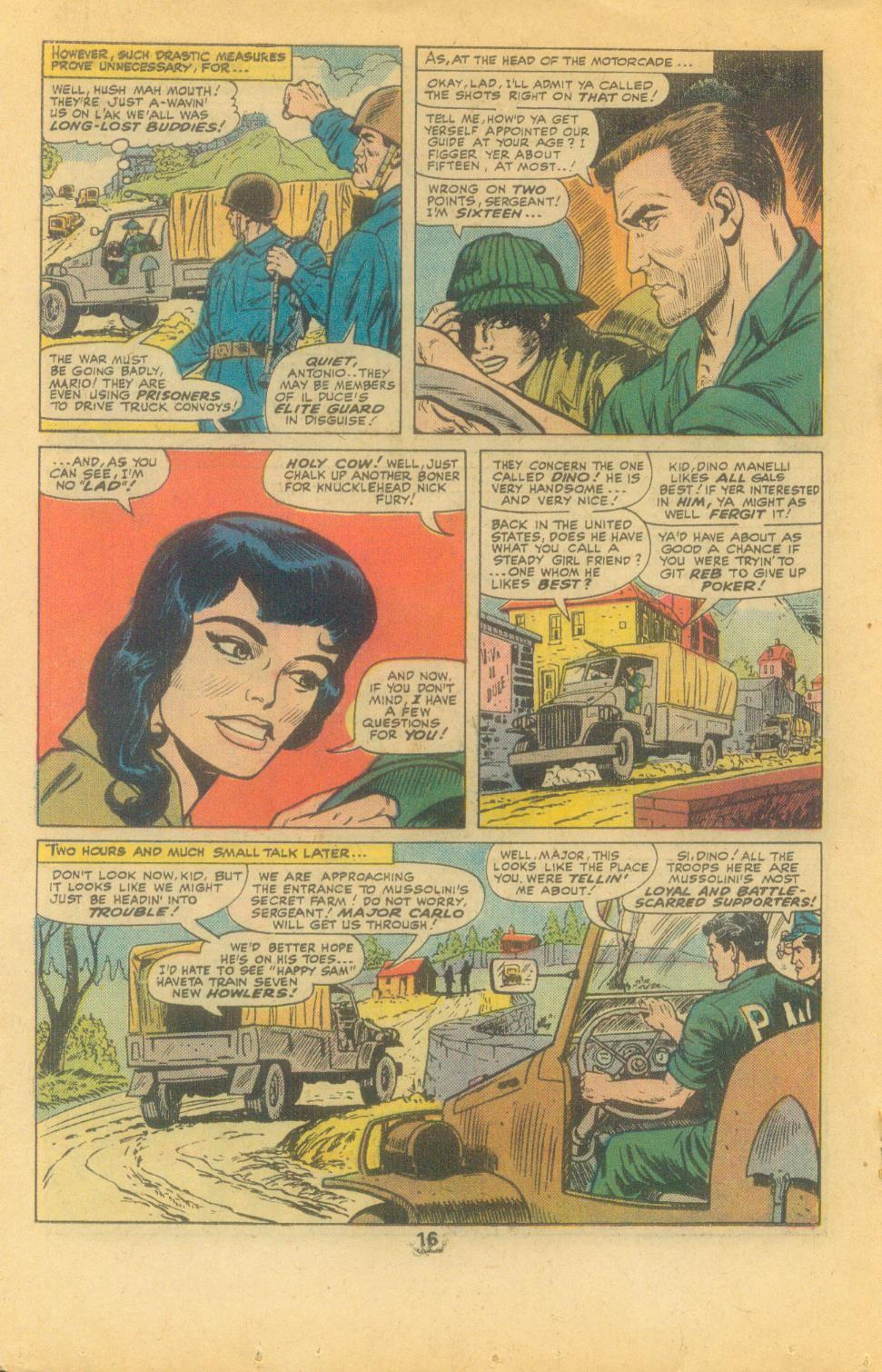 Read online Sgt. Fury comic -  Issue #132 - 18