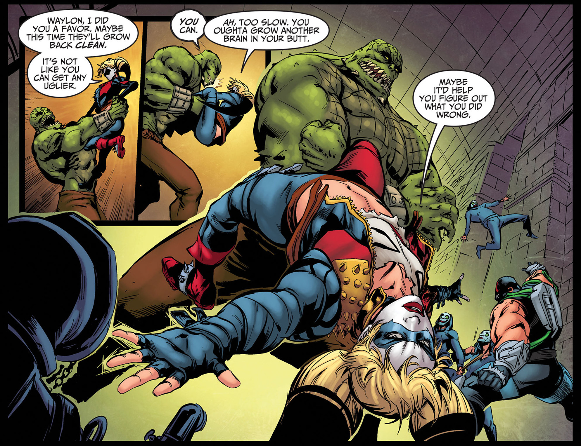 Read online Injustice: Ground Zero comic -  Issue #8 - 11
