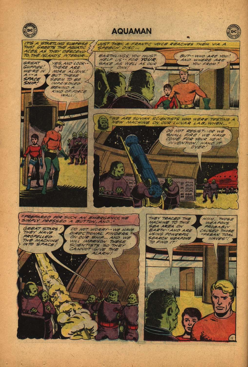 Read online Aquaman (1962) comic -  Issue #4 - 16