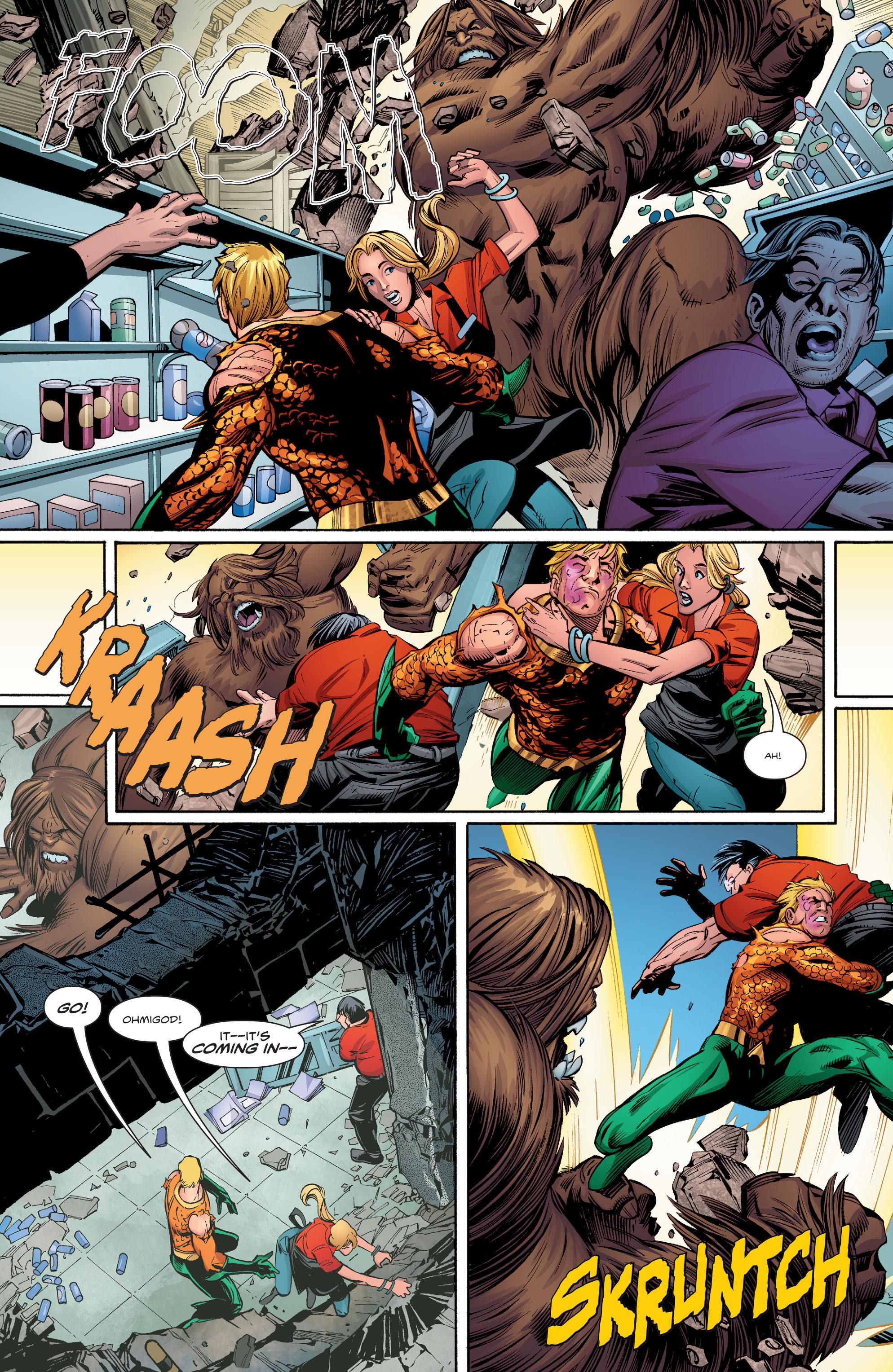 Read online Aquaman (2016) comic -  Issue #9 - 14