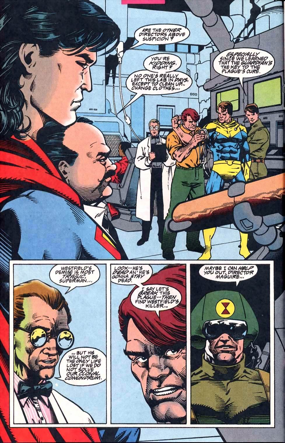 Read online Adventures of Superman (1987) comic -  Issue #513 - 7