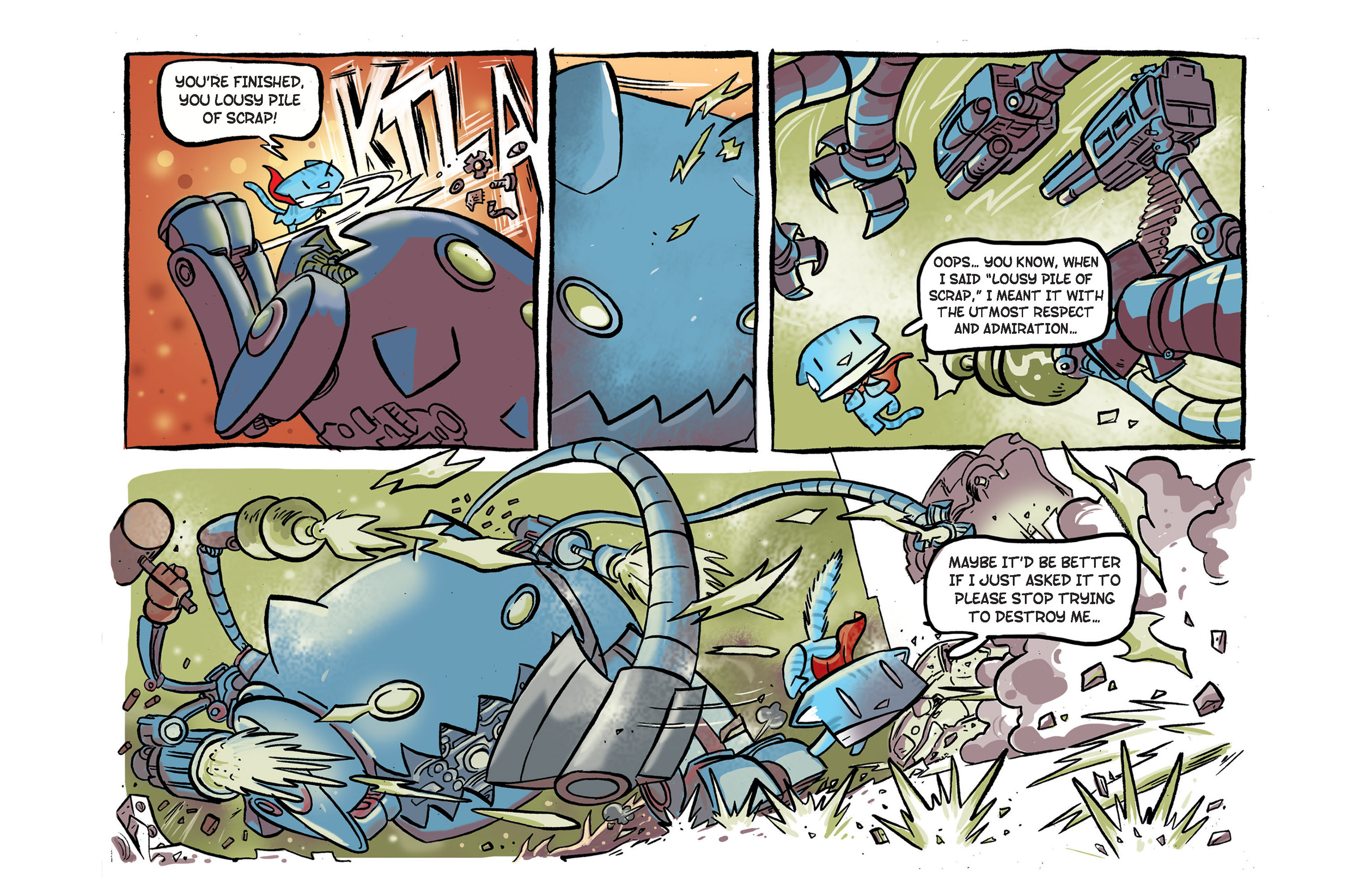 Read online Ultracat comic -  Issue #2 - 23