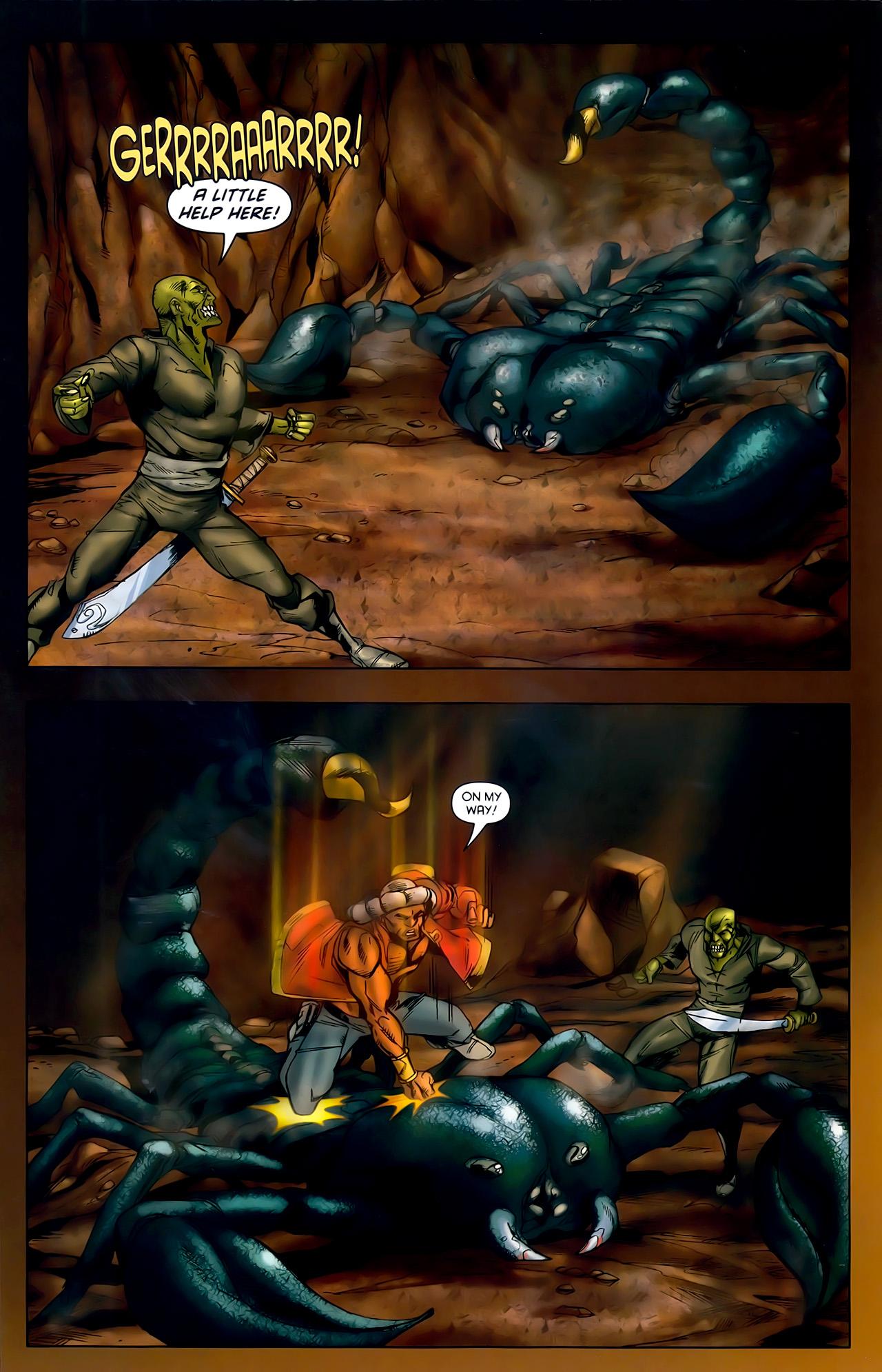 Read online 1001 Arabian Nights: The Adventures of Sinbad comic -  Issue #10 - 16