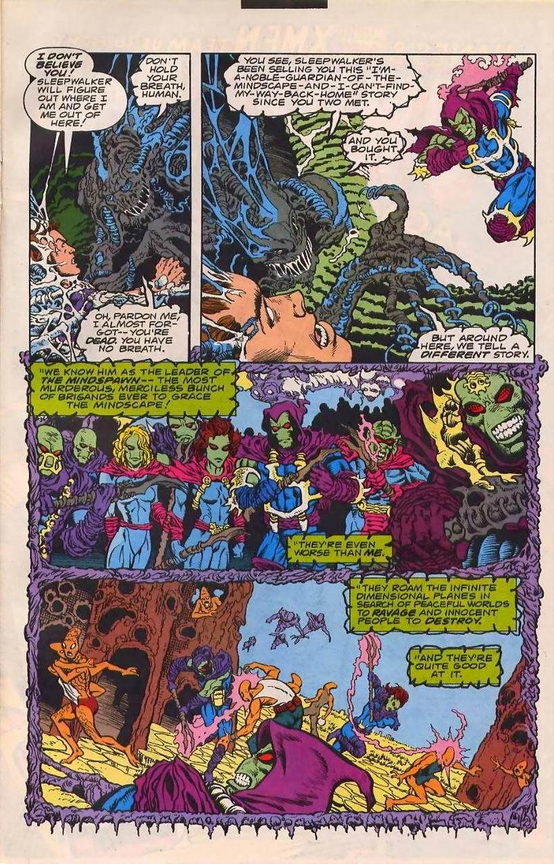 Read online Sleepwalker comic -  Issue #32 - 9