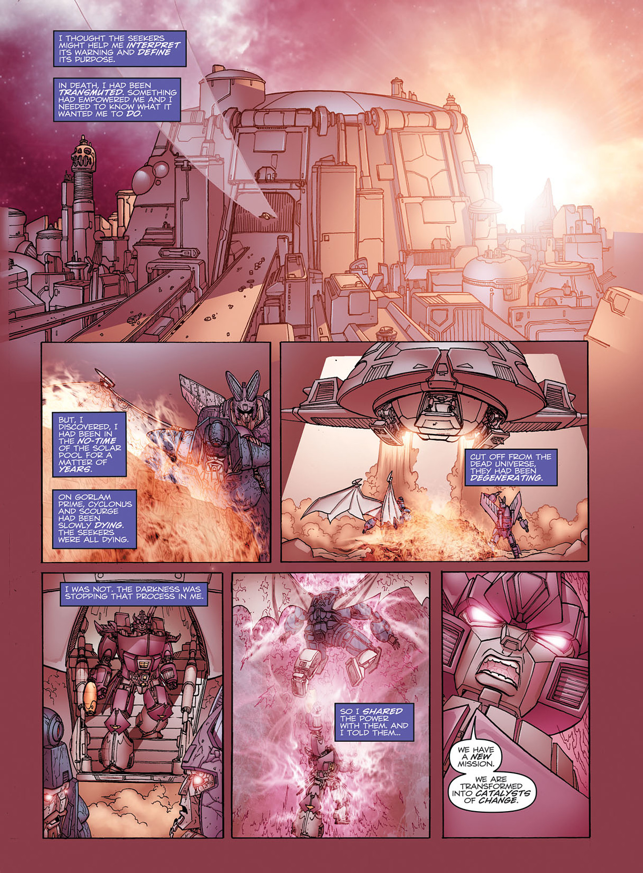 Read online Transformers: Heart of Darkness comic -  Issue #1 - 13