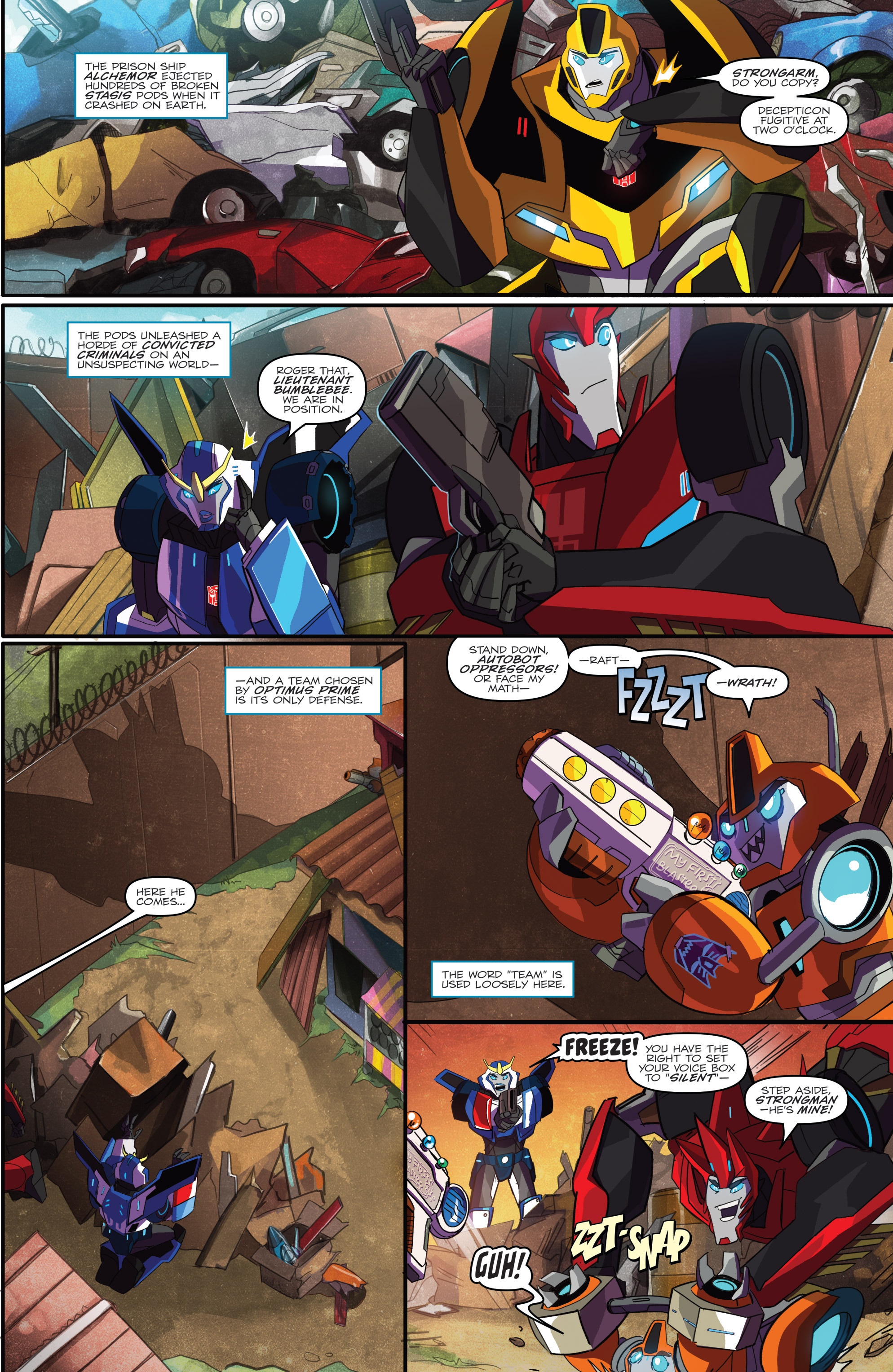 Read online Transformers: Robots In Disguise (2015) comic -  Issue #1 - 3